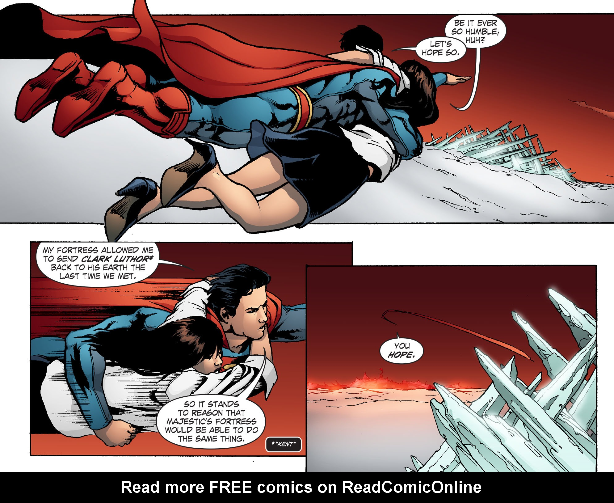 Read online Smallville: Chaos [II] comic -  Issue #5 - 18