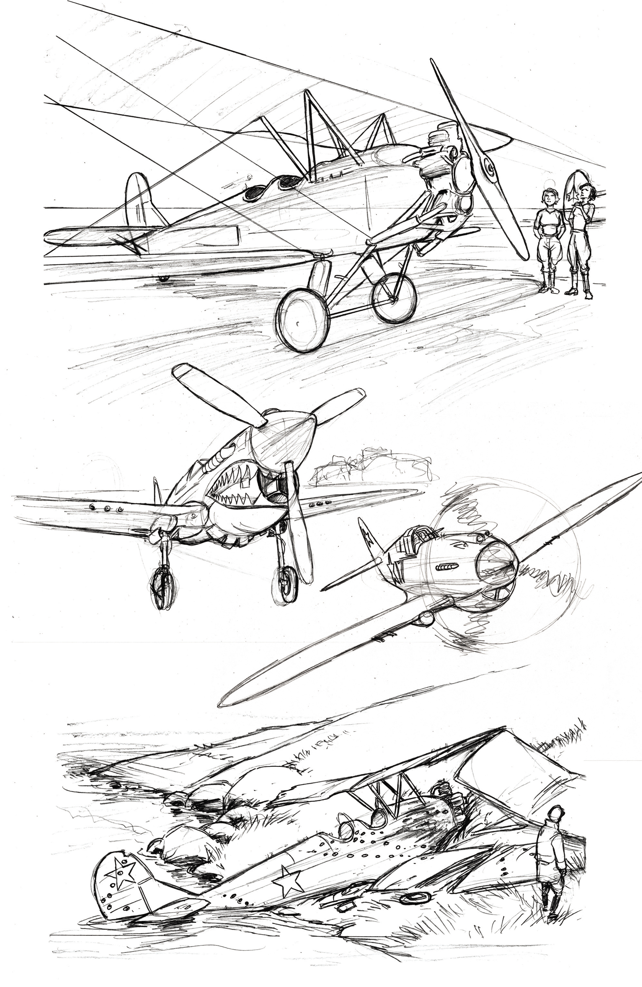Read online Battlefields: Night Witches comic -  Issue # TPB - 76