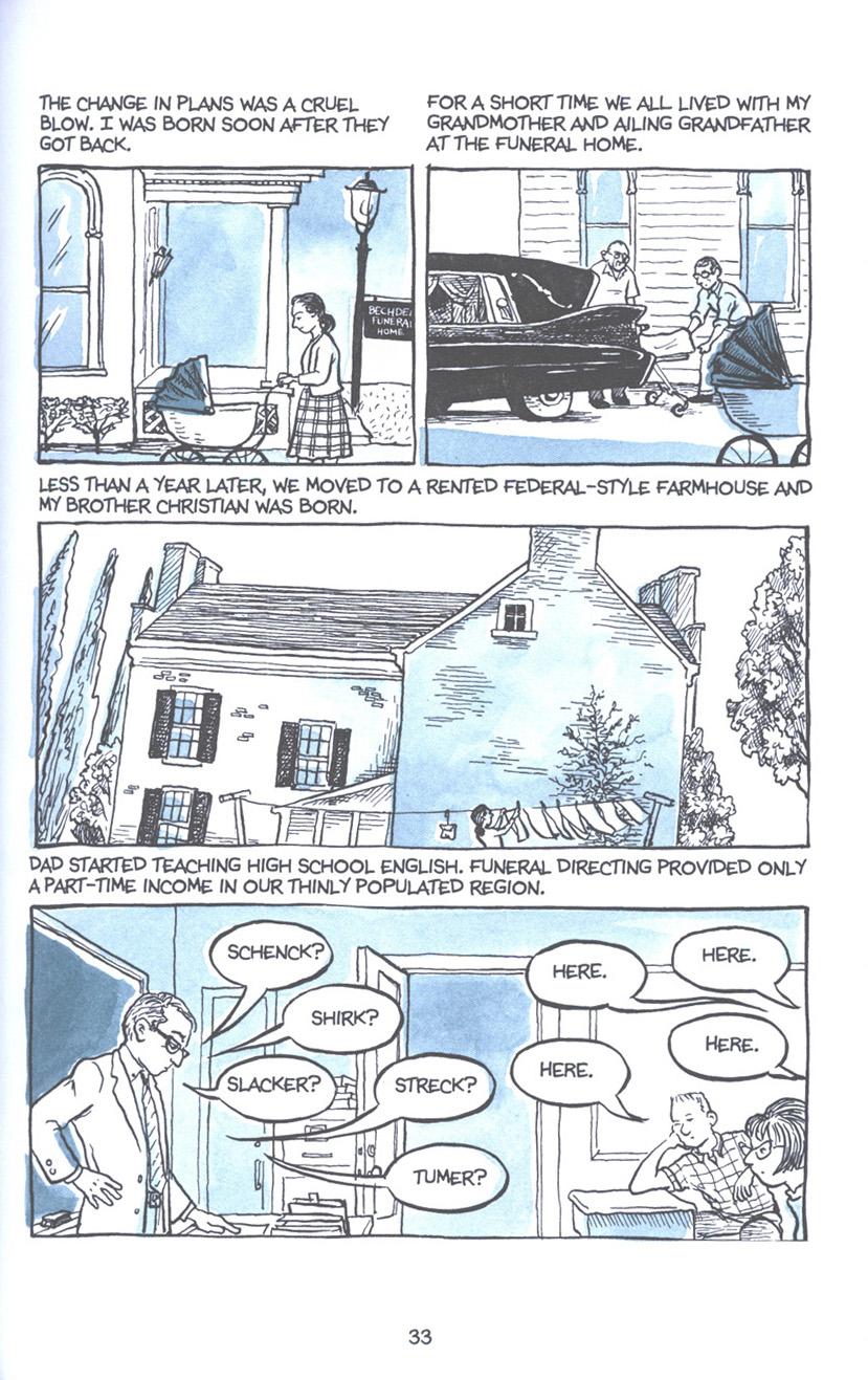 Read online Fun Home: A Family Tragicomic comic -  Issue # TPB - 40