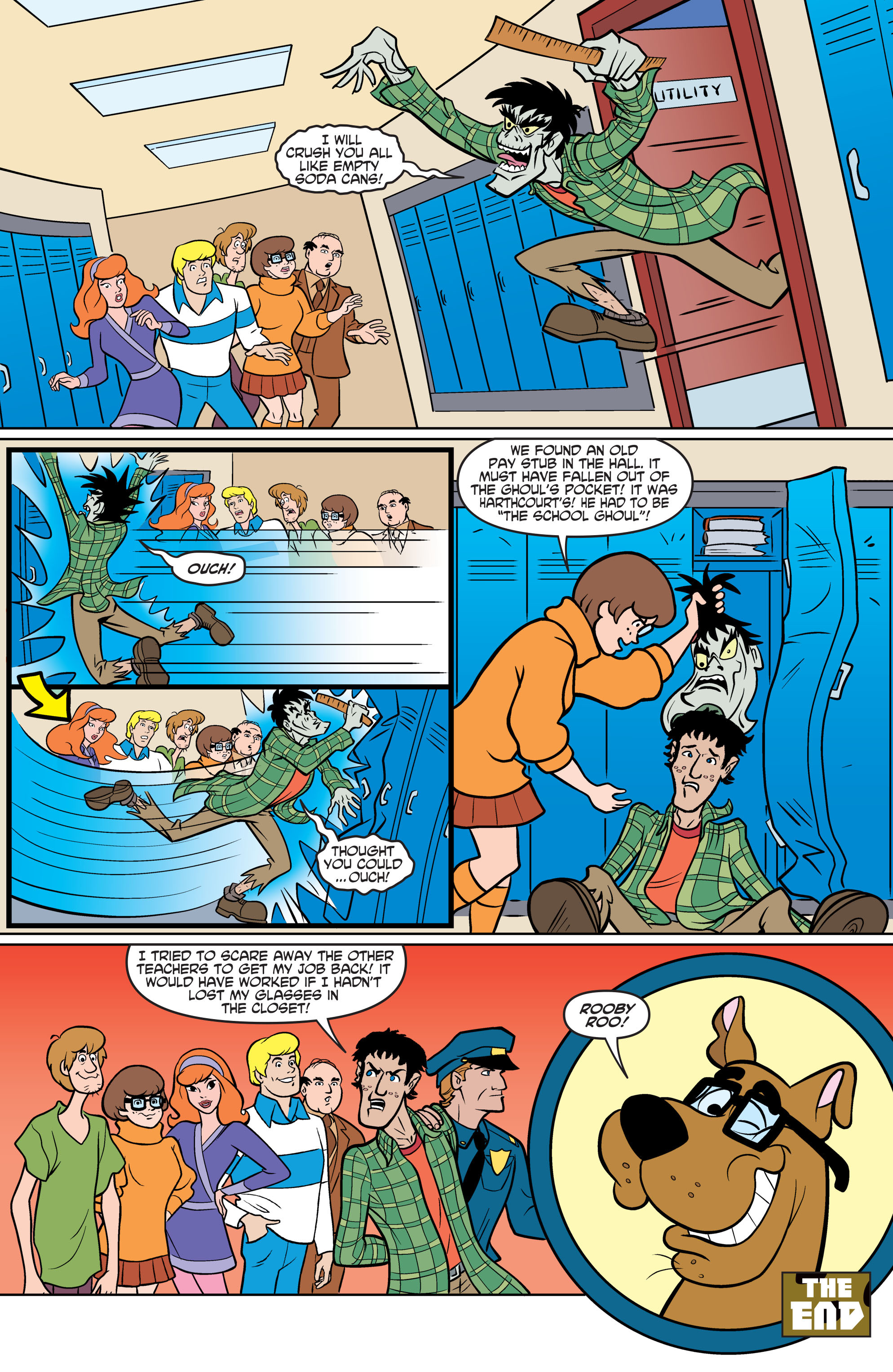 Read online Scooby-Doo: Where Are You? comic -  Issue #70 - 21