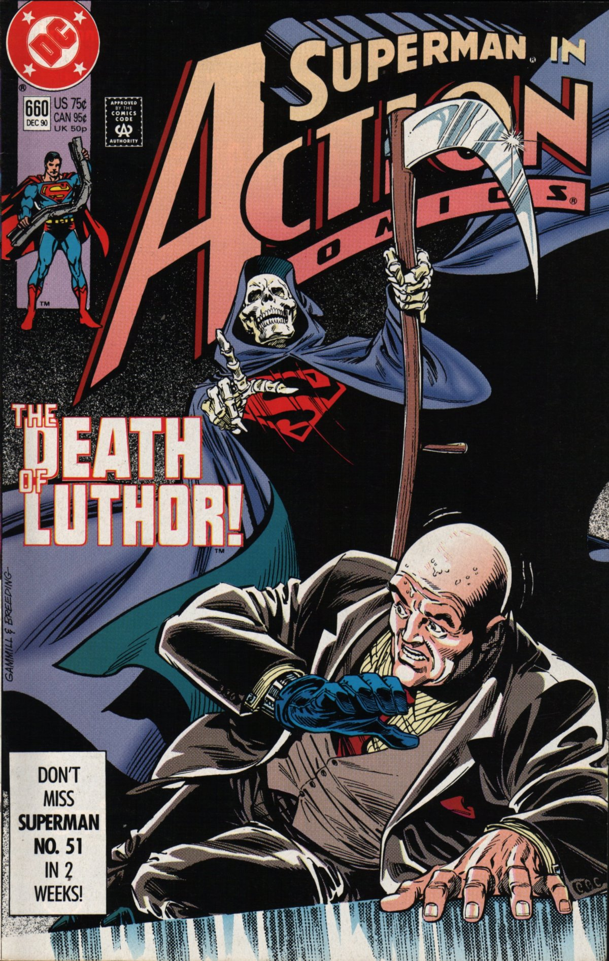 Read online Action Comics (1938) comic -  Issue #660 - 1