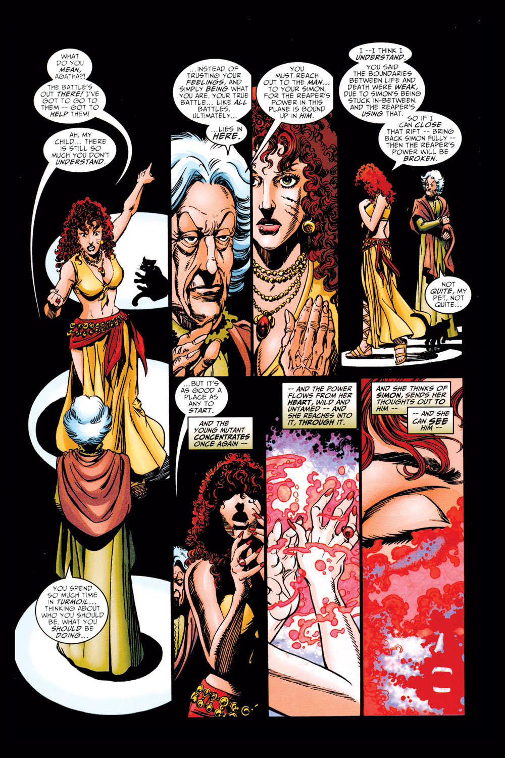 Read online Avengers (1998) comic -  Issue #11 - 16