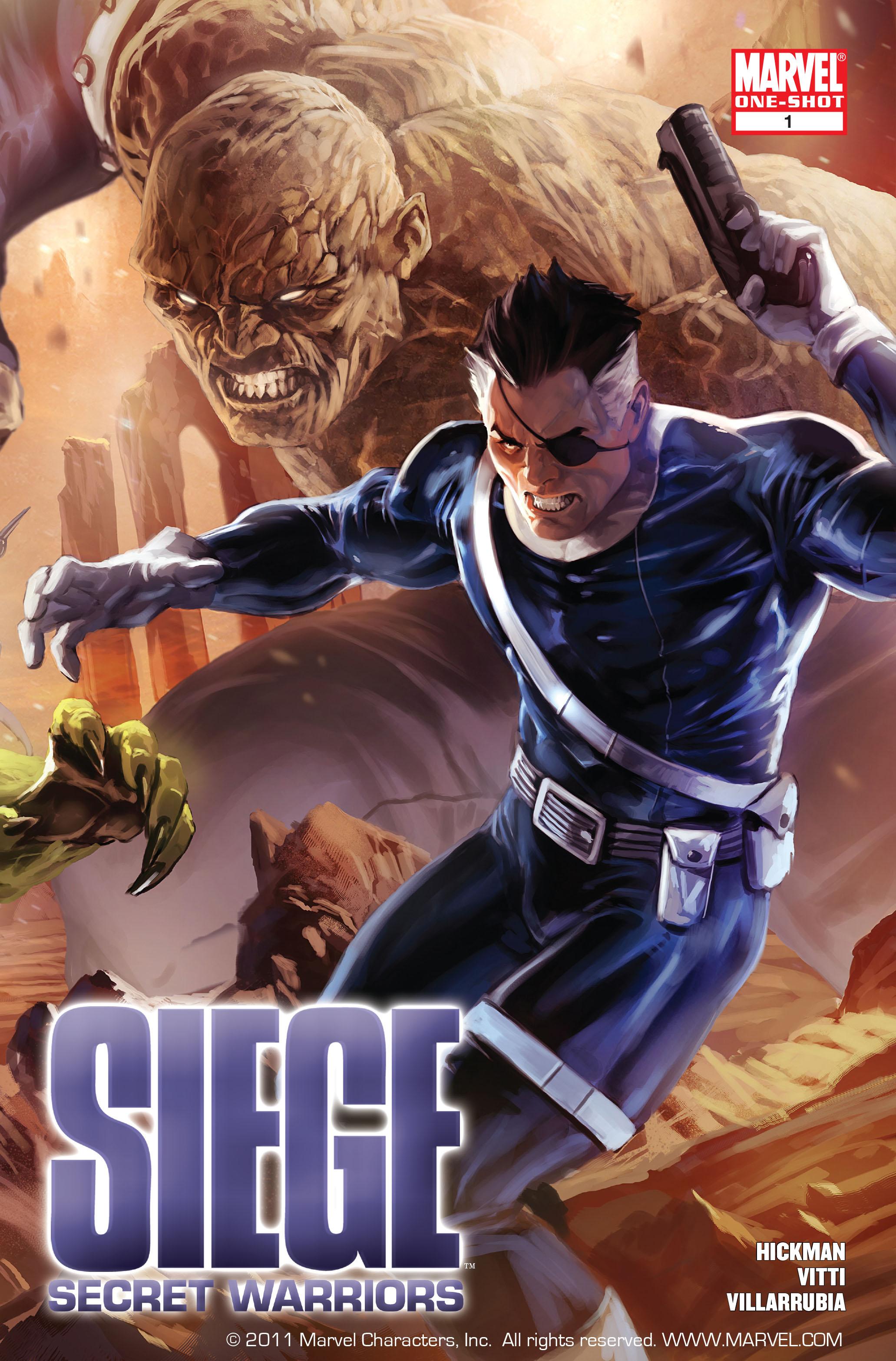 Read online Siege: Secret Warriors comic -  Issue # Full - 1