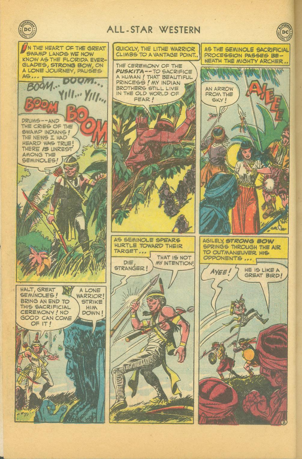 Read online All-Star Western (1951) comic -  Issue #61 - 4