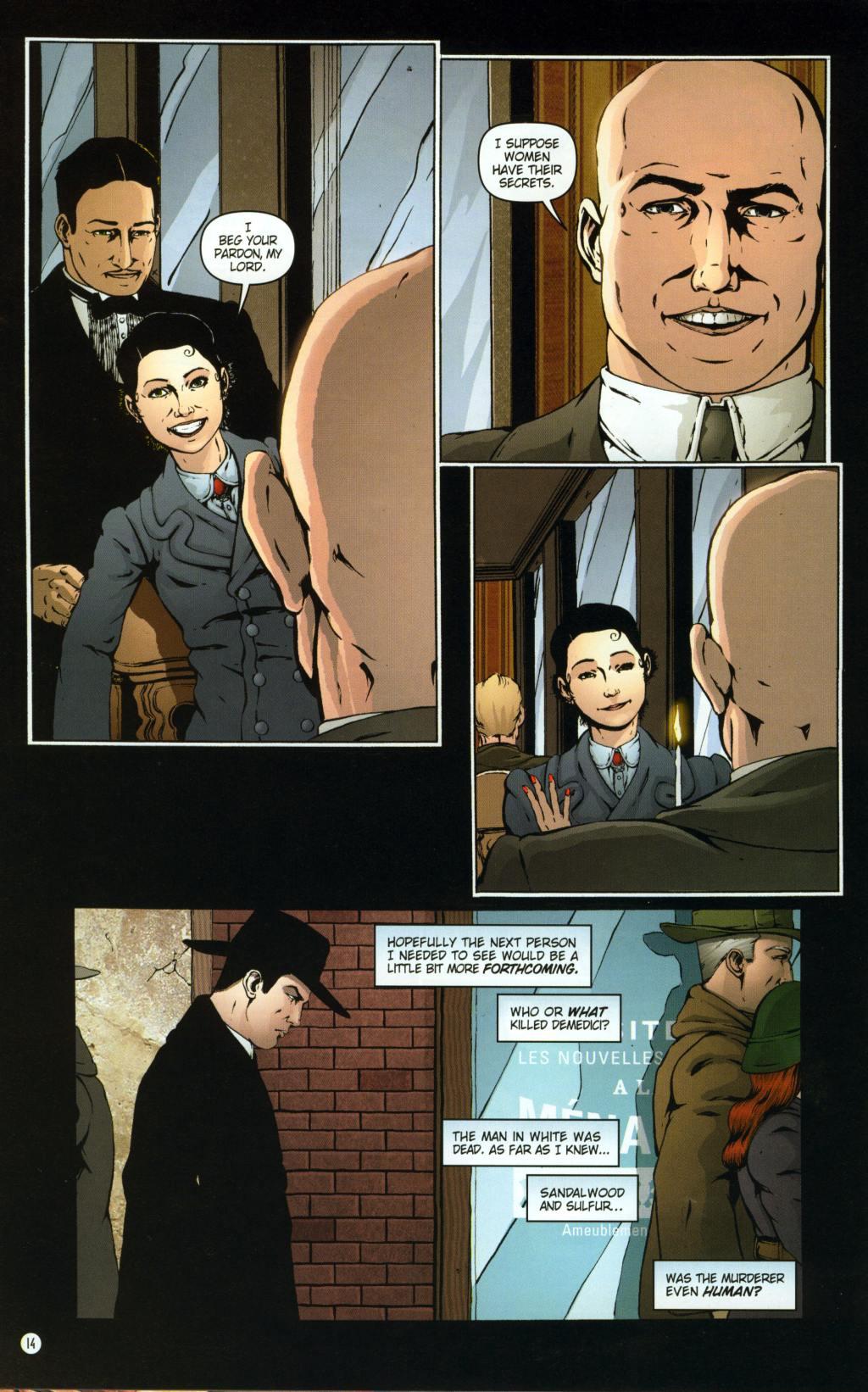 Read online Rex Mundi comic -  Issue #8 - 18