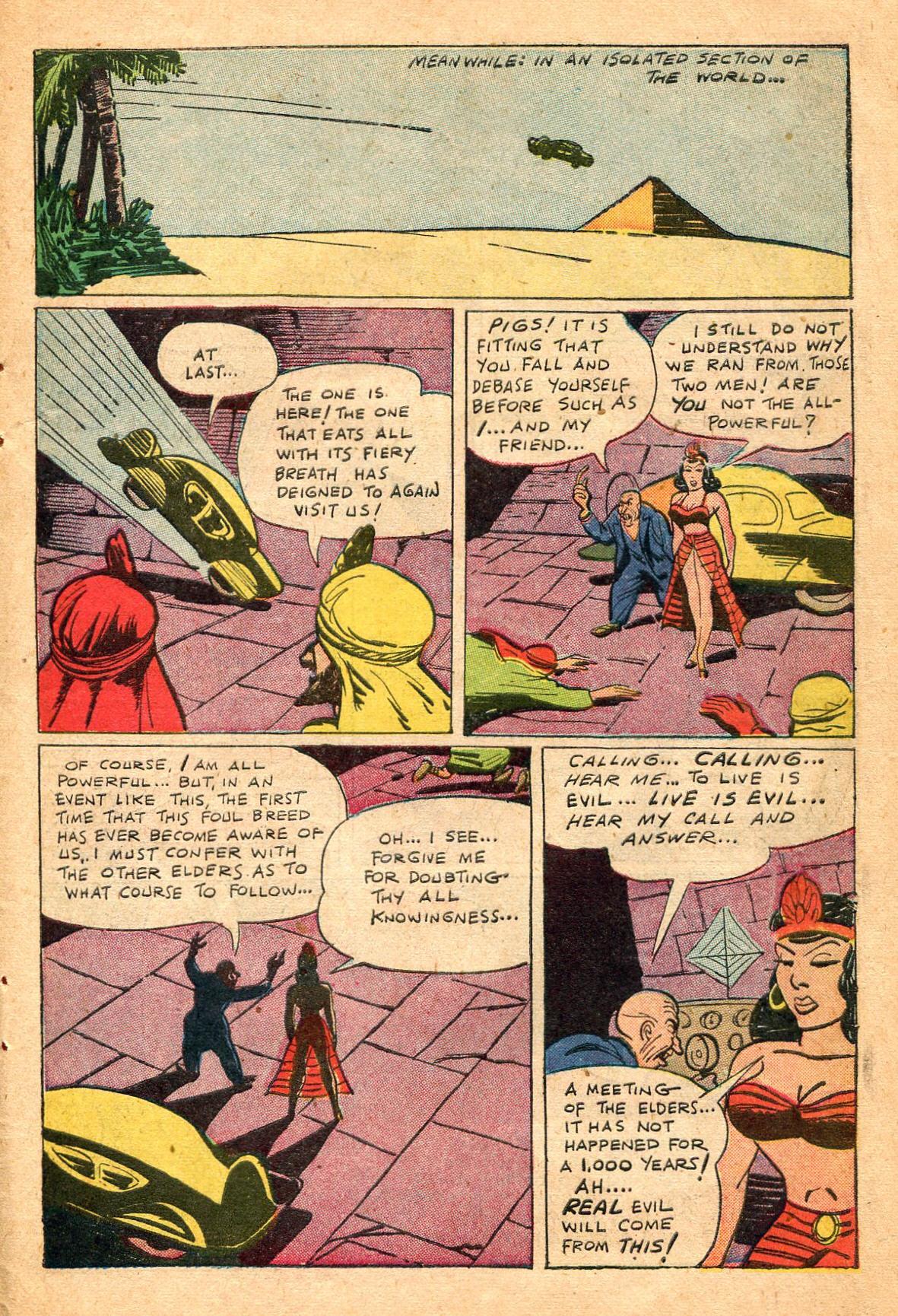 Read online Shadow Comics comic -  Issue #60 - 39