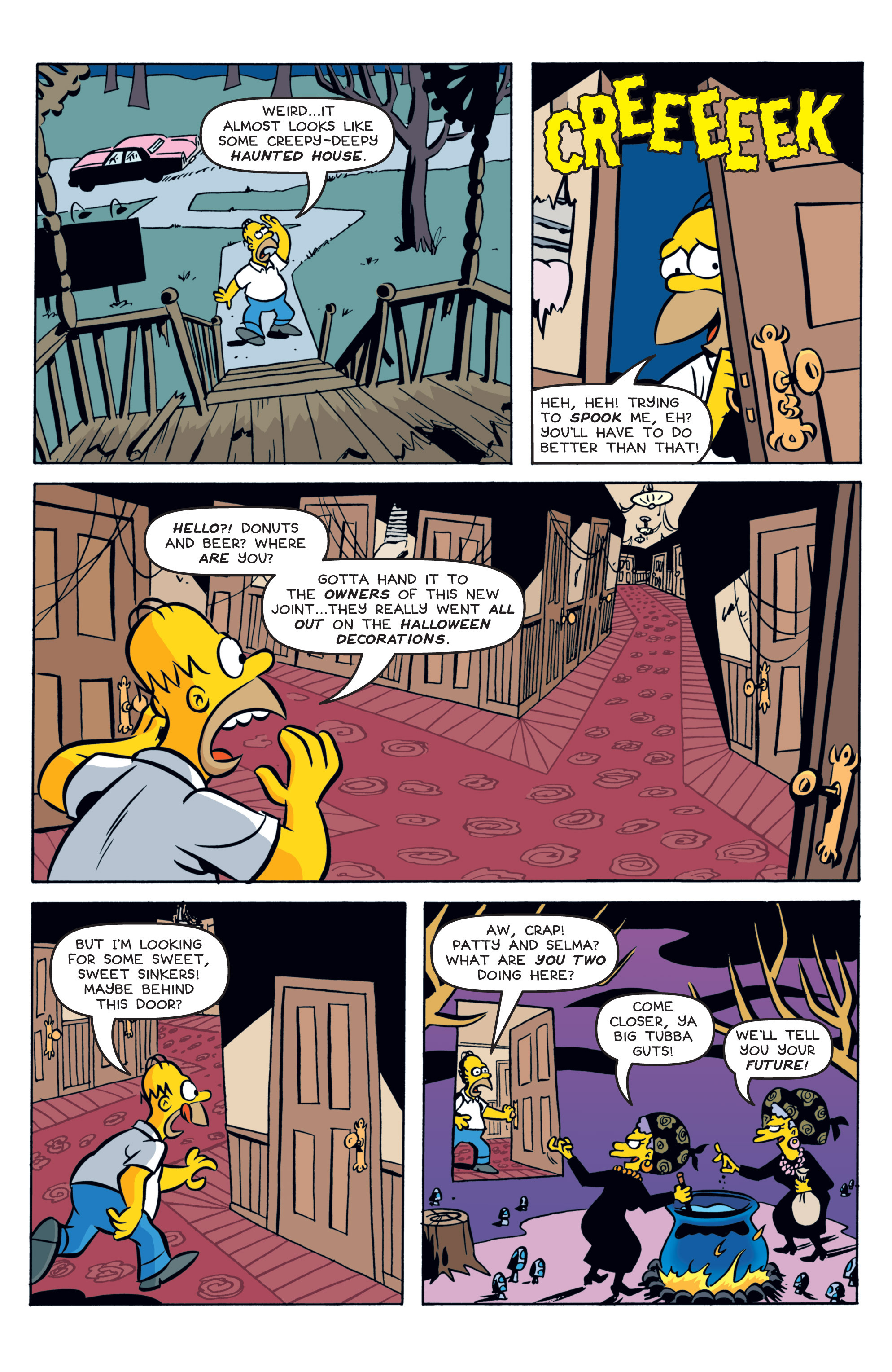 Read online Treehouse of Horror comic -  Issue #19 - 4