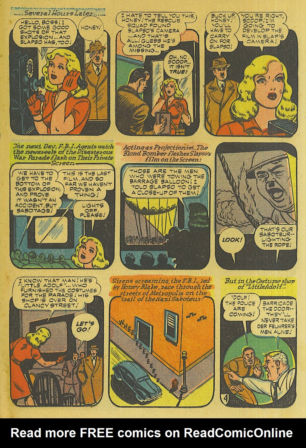 Green Hornet Comics issue 10 - Page 18