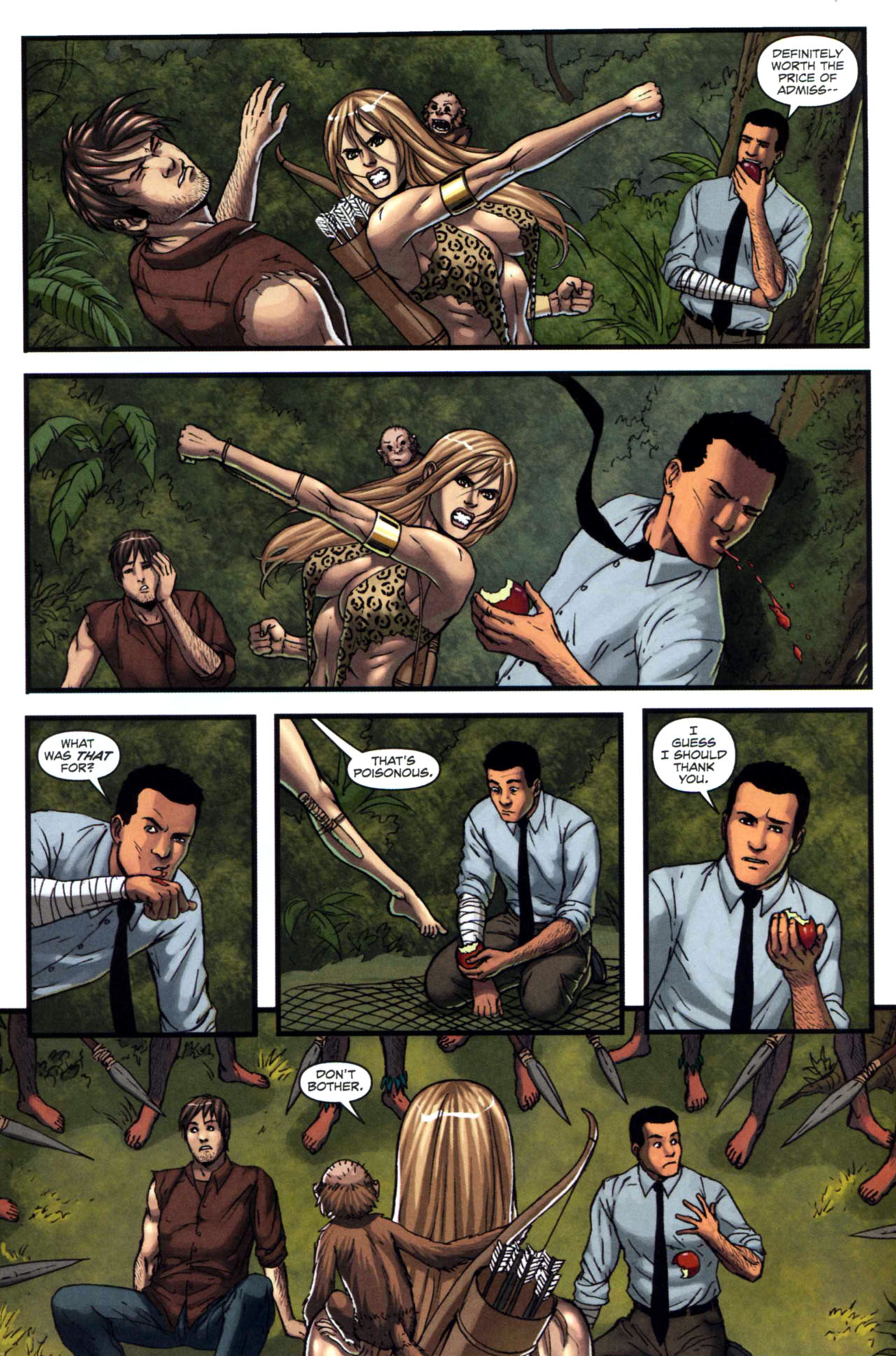 Read online Sheena, Queen of the Jungle comic -  Issue #5 - 10