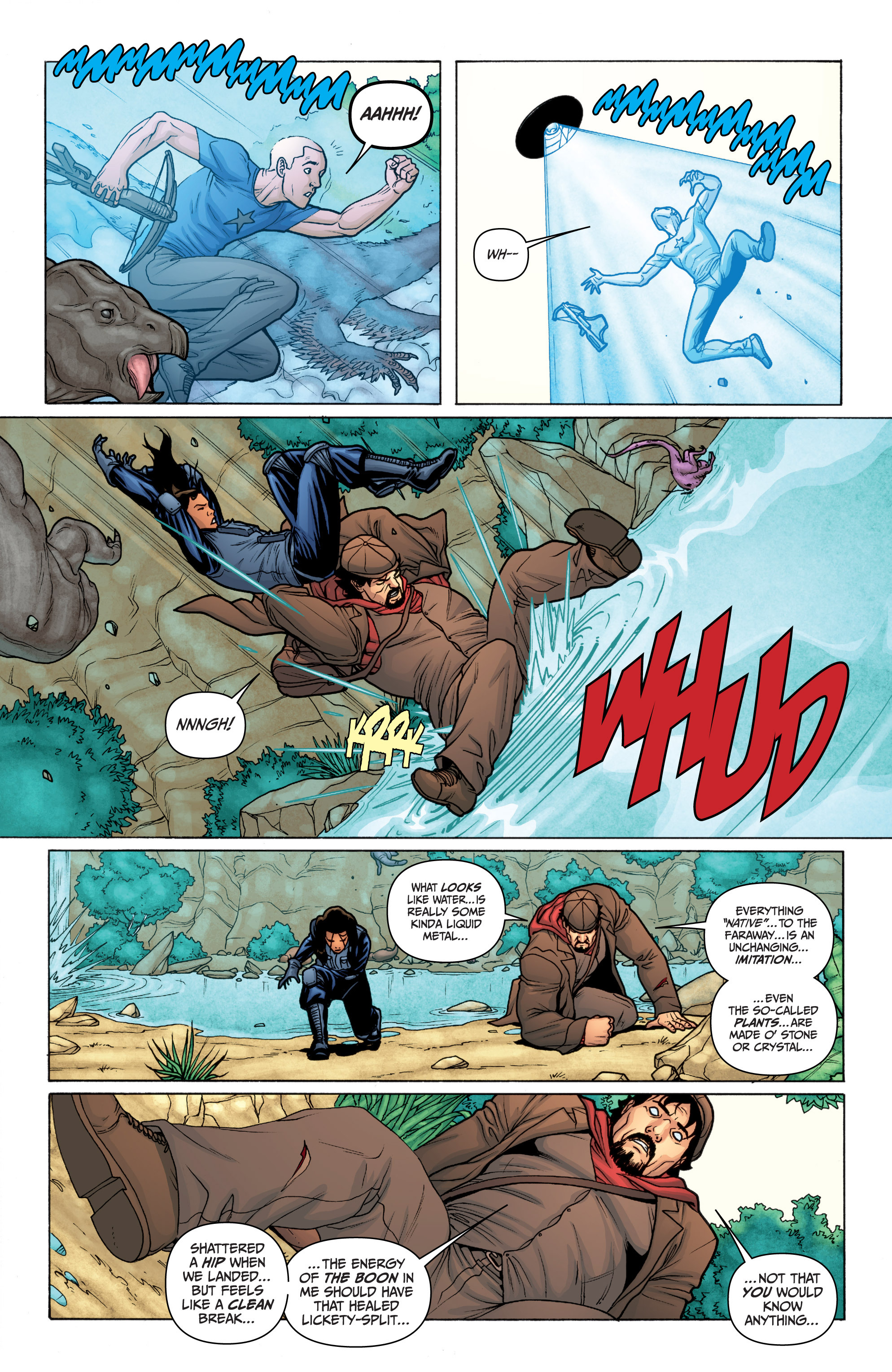 Read online Archer and Armstrong comic -  Issue #11 - 7