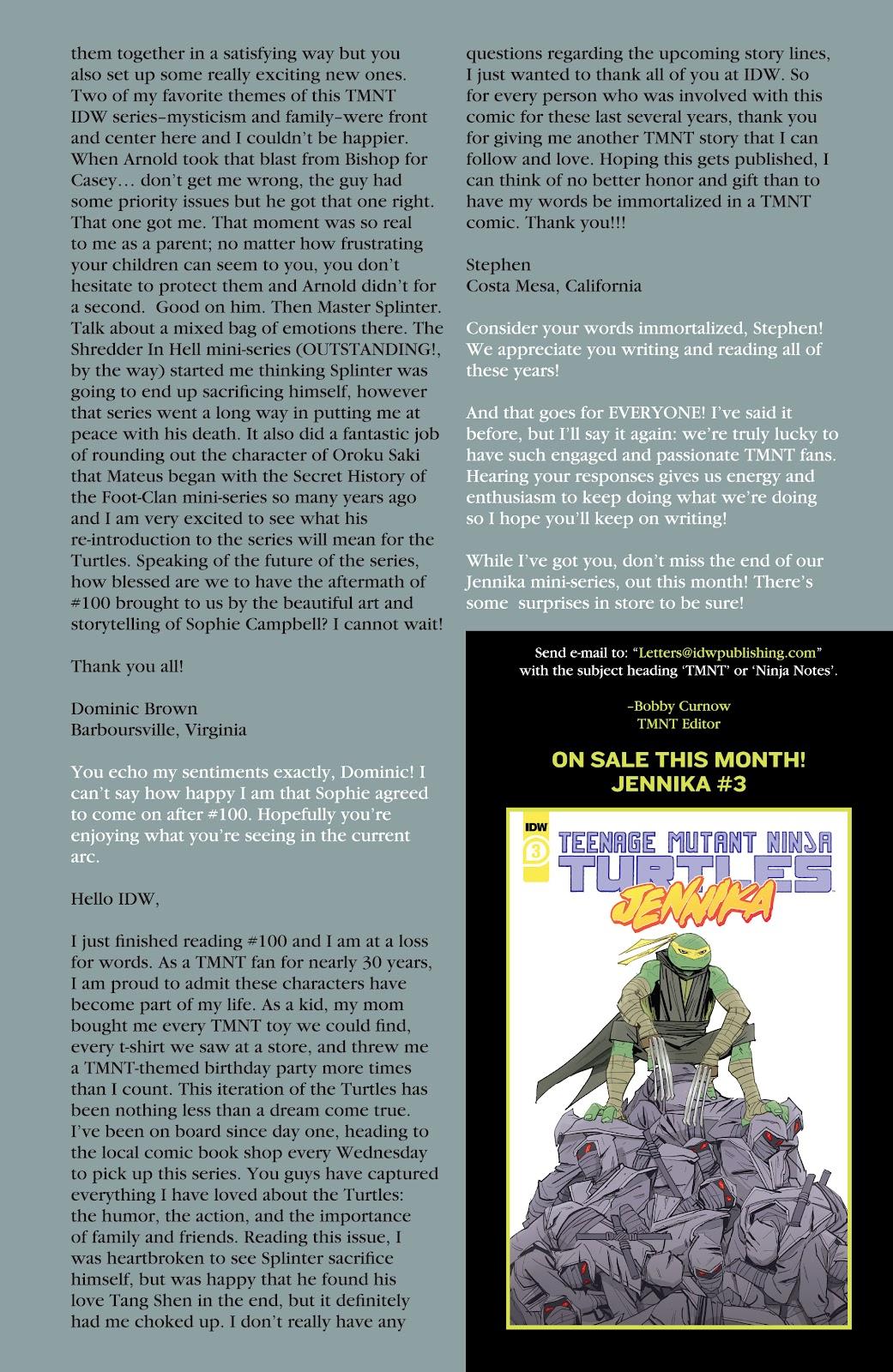 Read online Teenage Mutant Ninja Turtles (2011) comic -  Issue #104 - 24