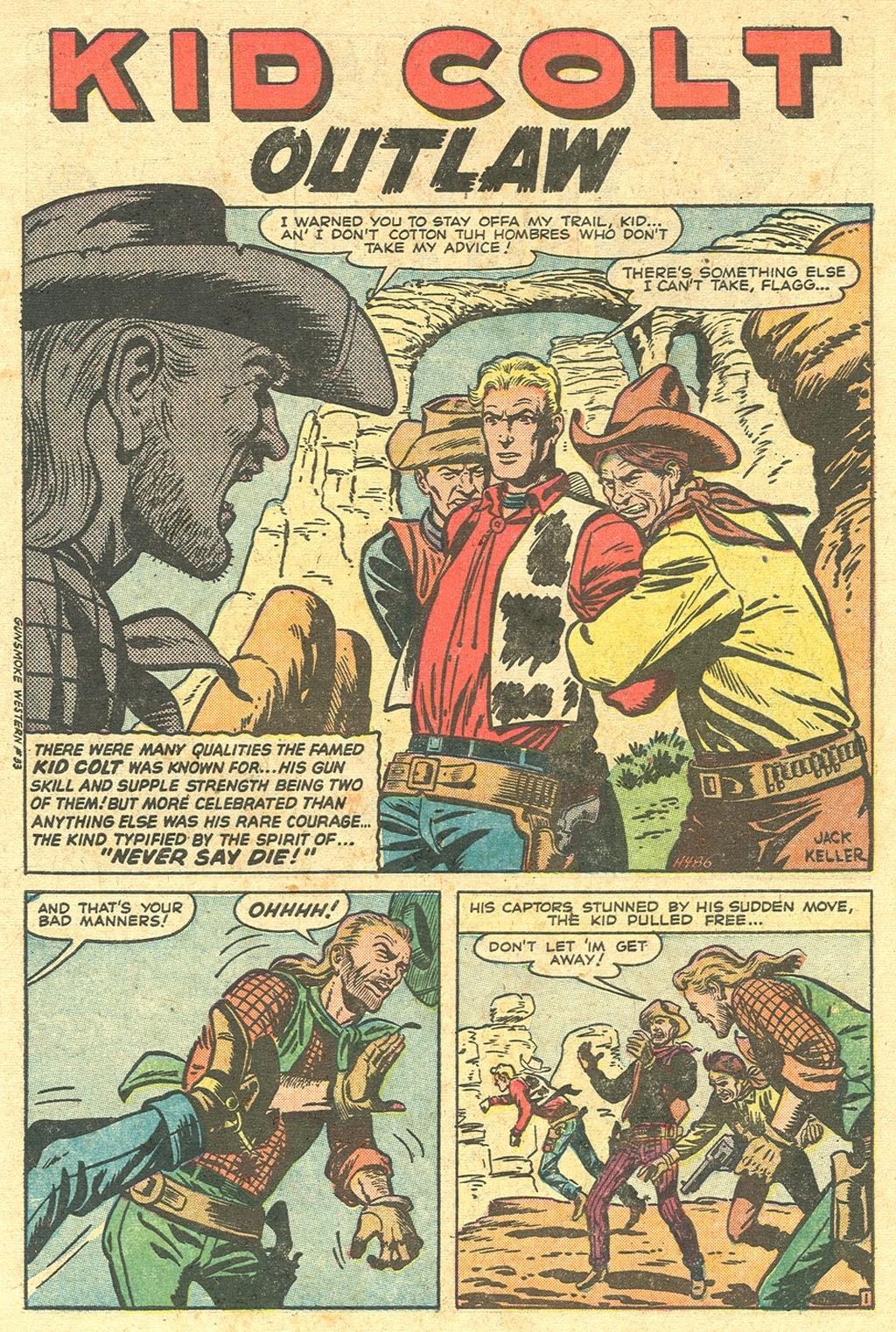 Gunsmoke Western issue 33 - Page 4