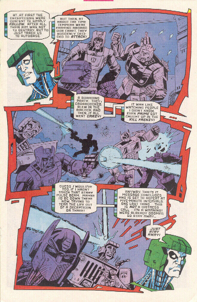 Read online Transformers: Generation 2 comic -  Issue #3 - 11