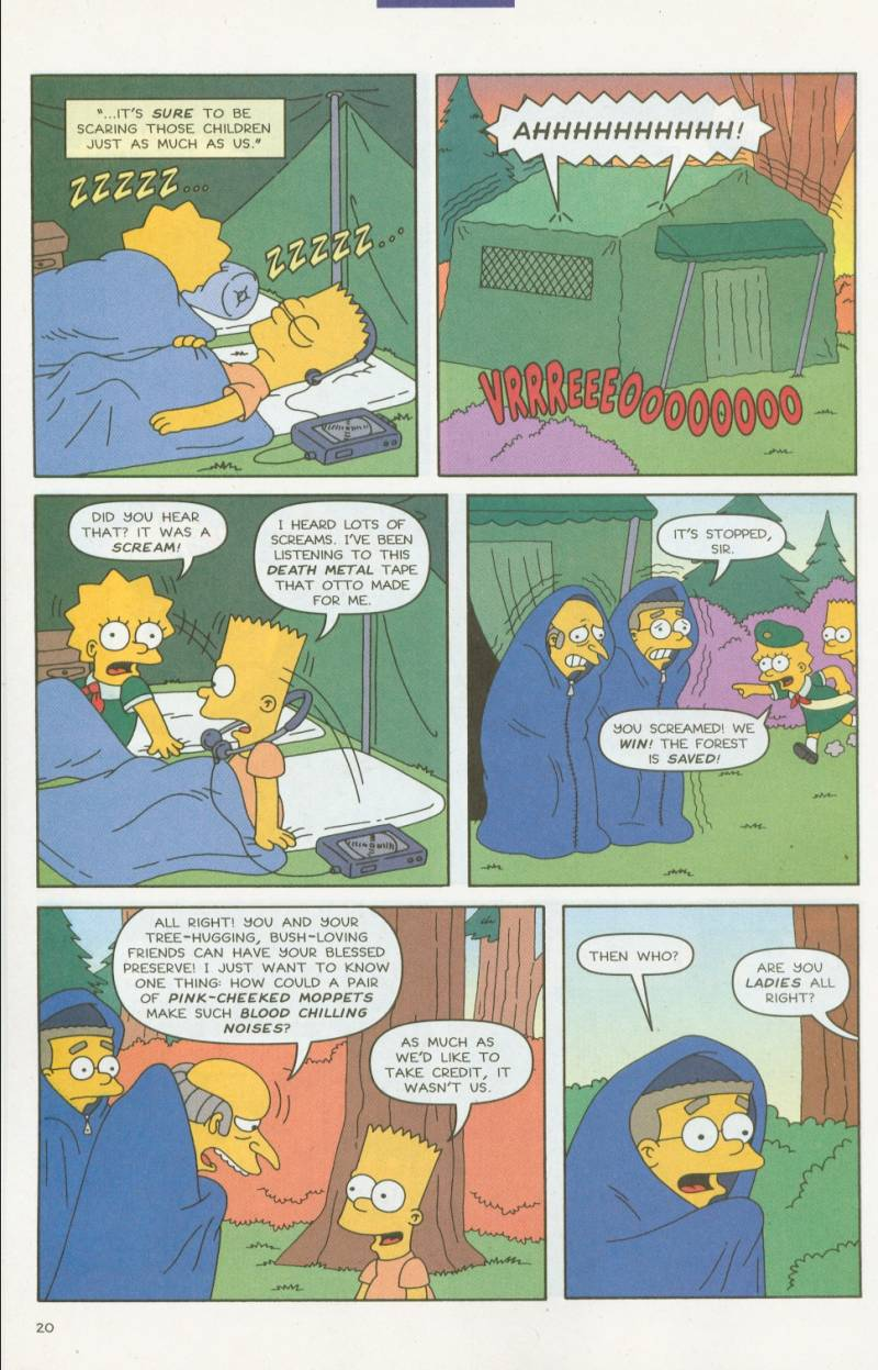 Read online Simpsons Comics comic -  Issue #63 - 21