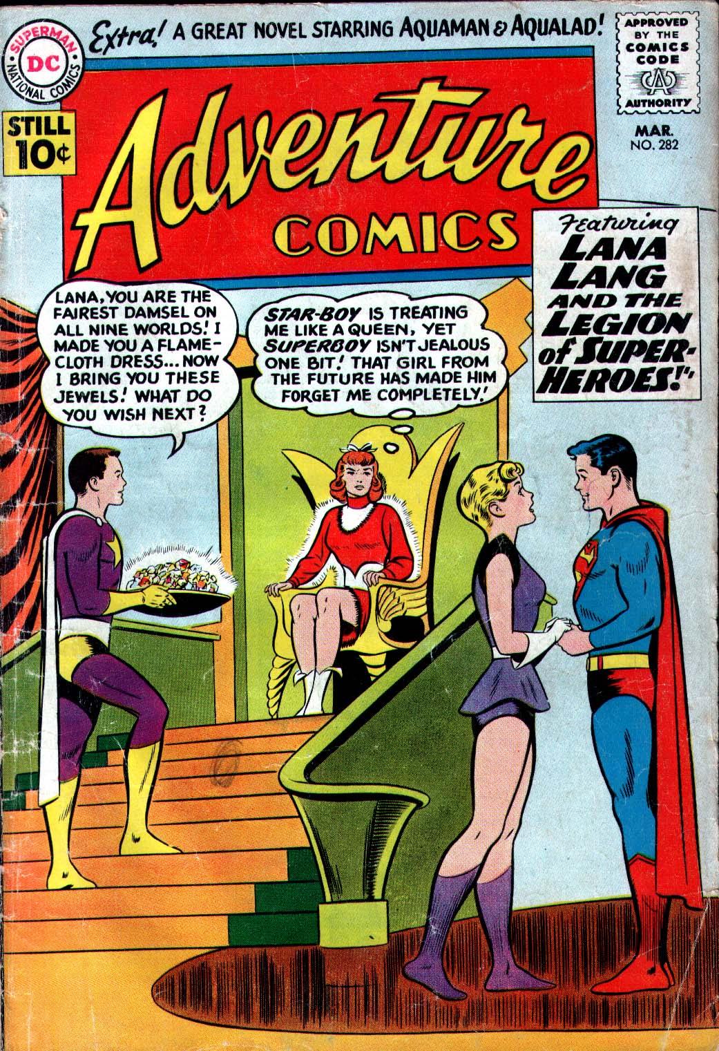 Read online Adventure Comics (1938) comic -  Issue #282 - 1