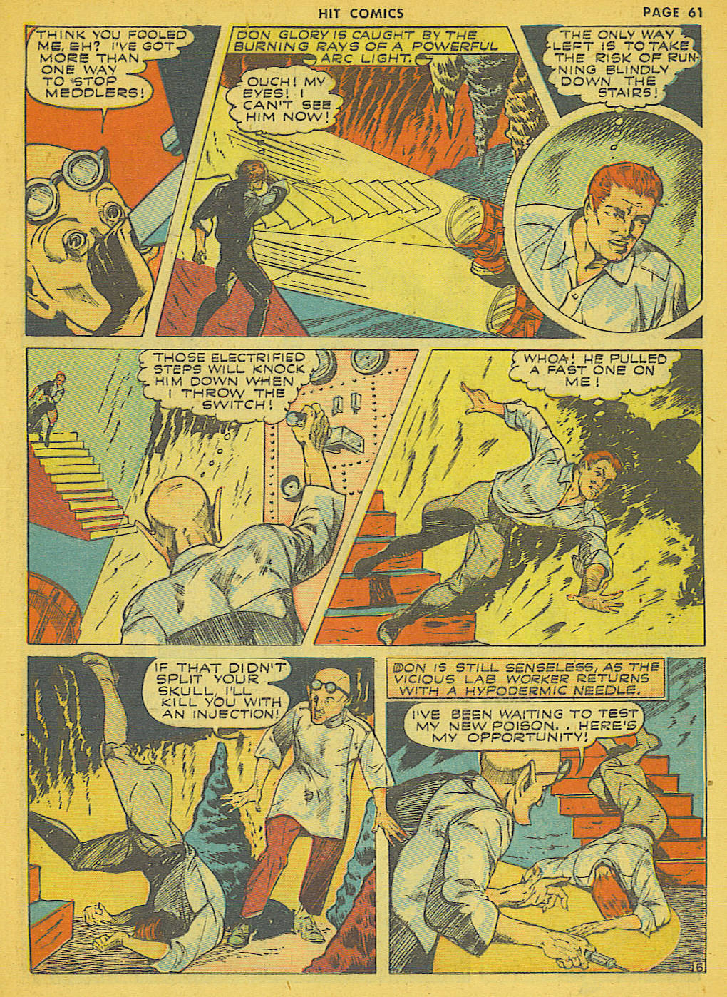 Read online Hit Comics comic -  Issue #21 - 63