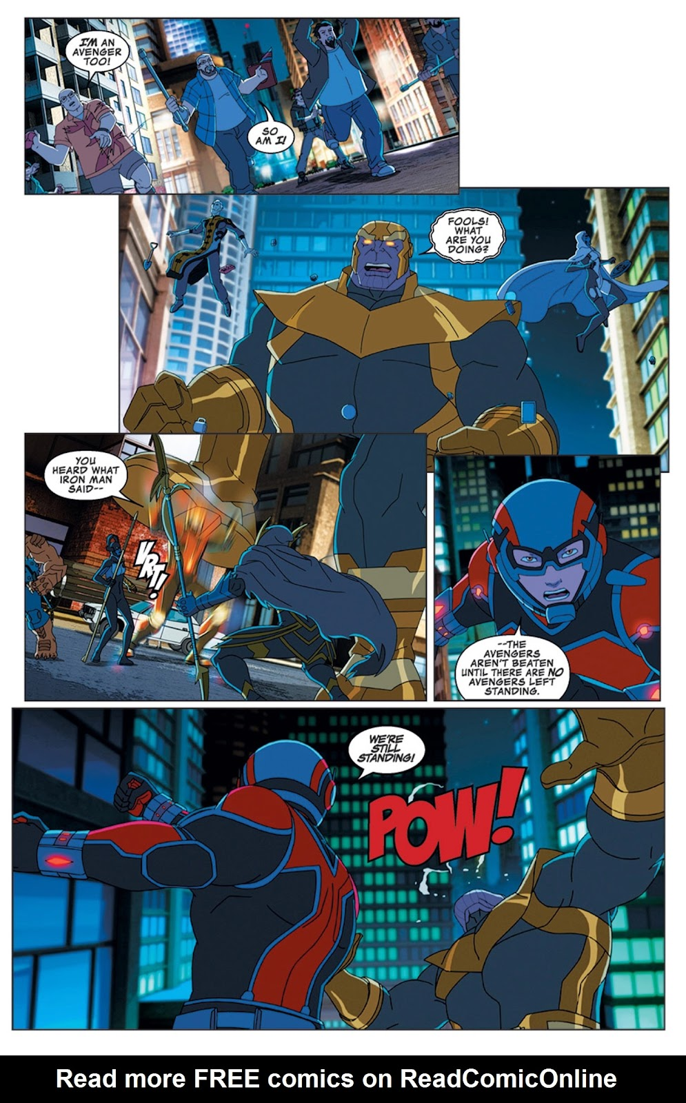 Read online Marvel Universe Avengers Assemble Season 2 comic -  Issue #16 - 22