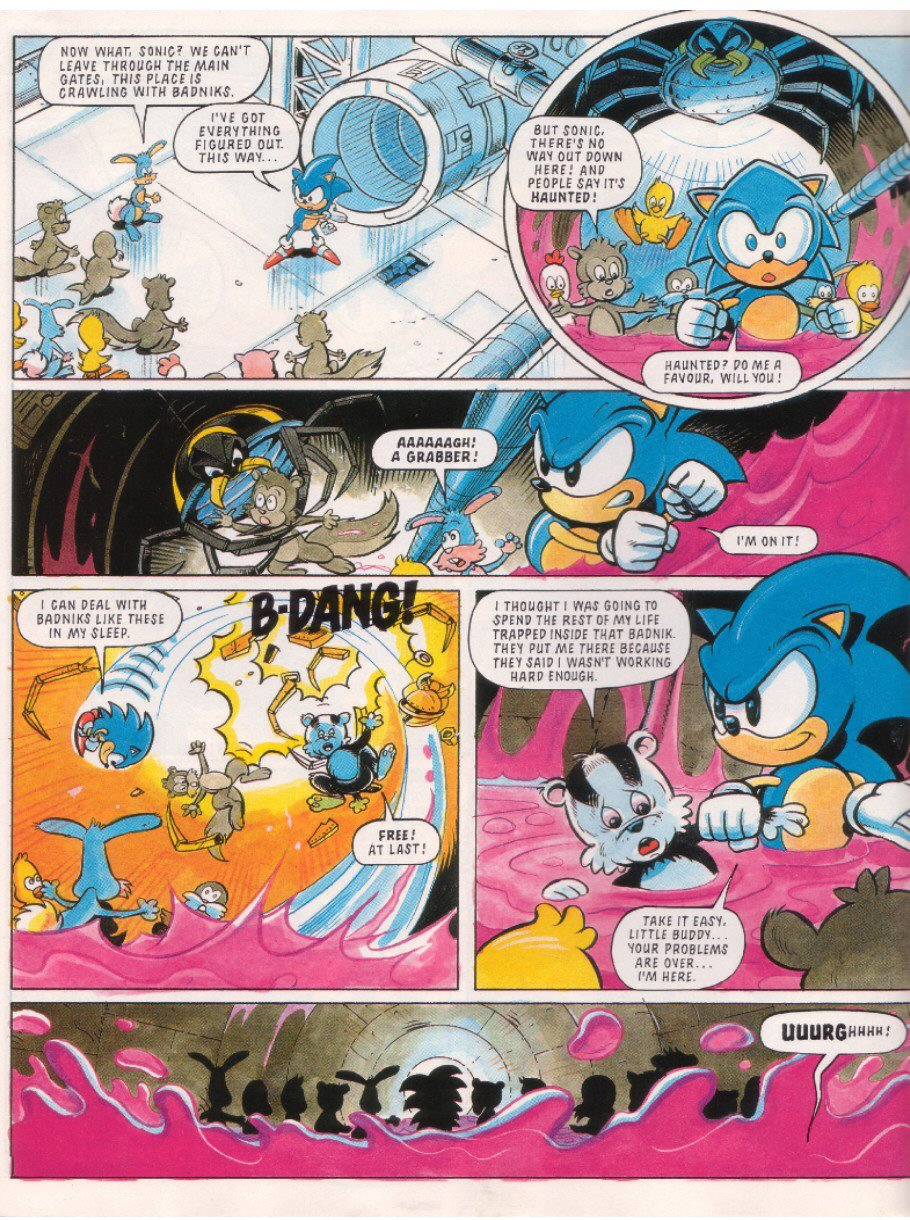 Read online Sonic the Comic comic -  Issue #10 - 6