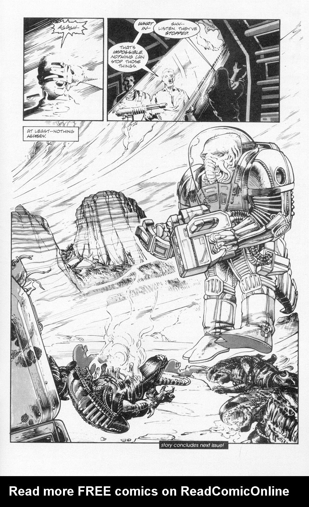 Read online Aliens (1988) comic -  Issue #5 - 27