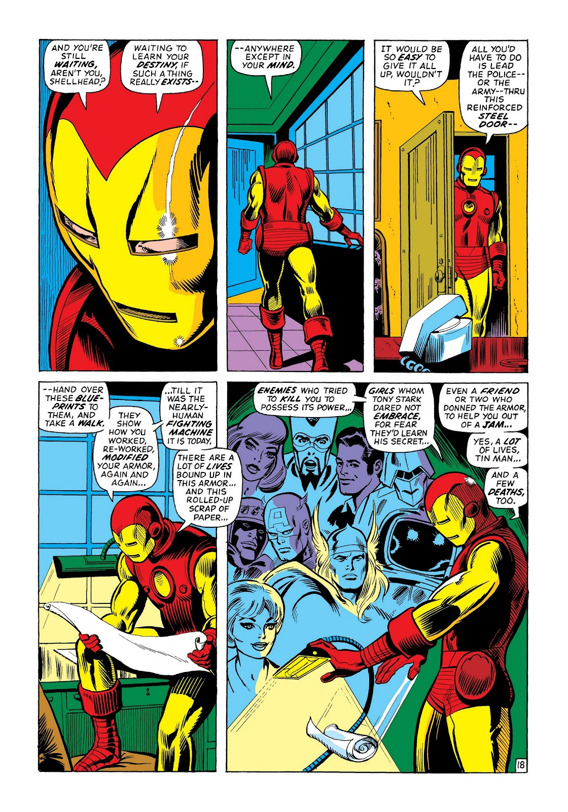 Read online Marvel Masterworks: The Invincible Iron Man comic -  Issue # TPB 8 (Part 2) - 84