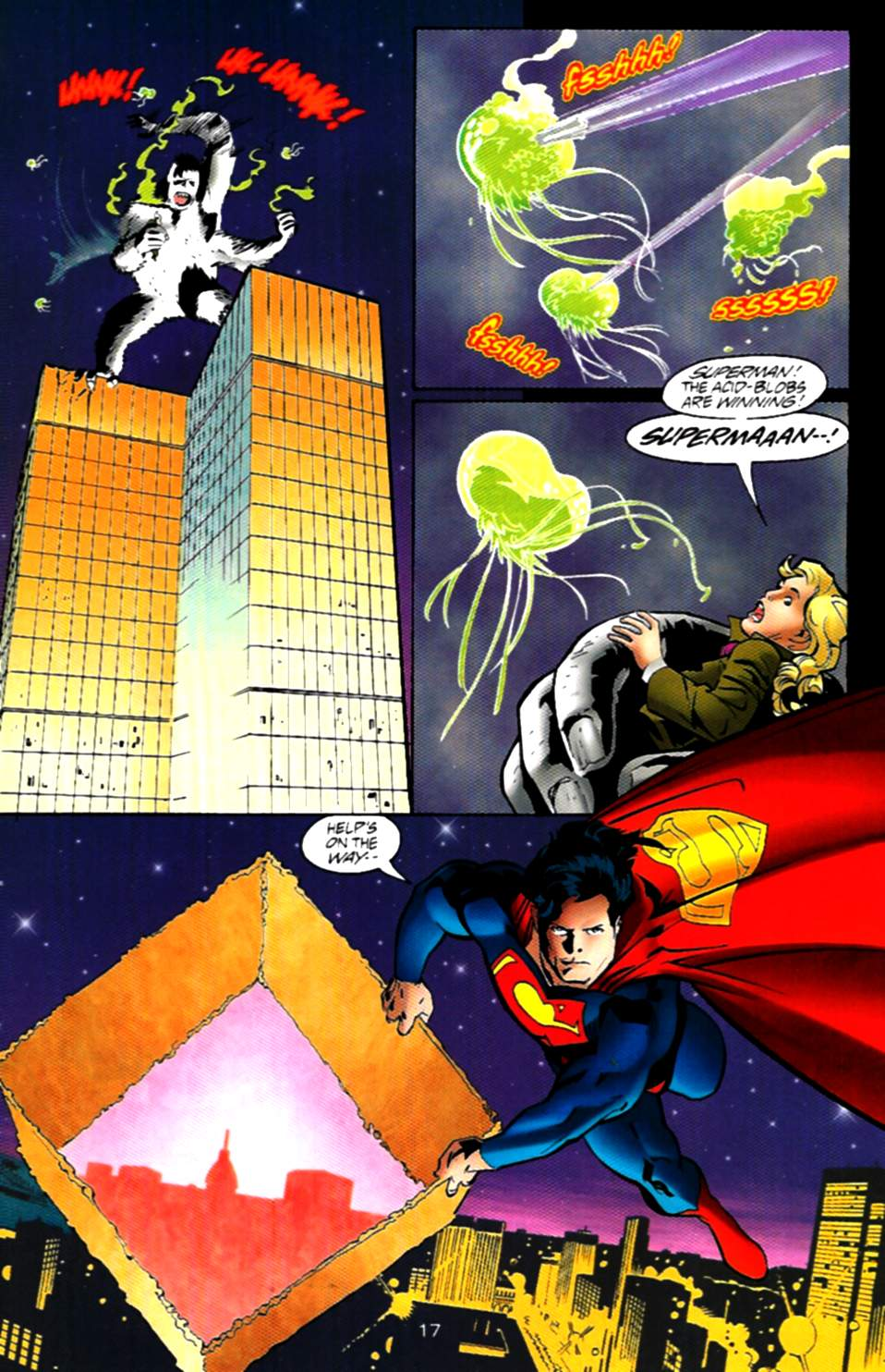 Read online Adventures of Superman (1987) comic -  Issue #537 - 18