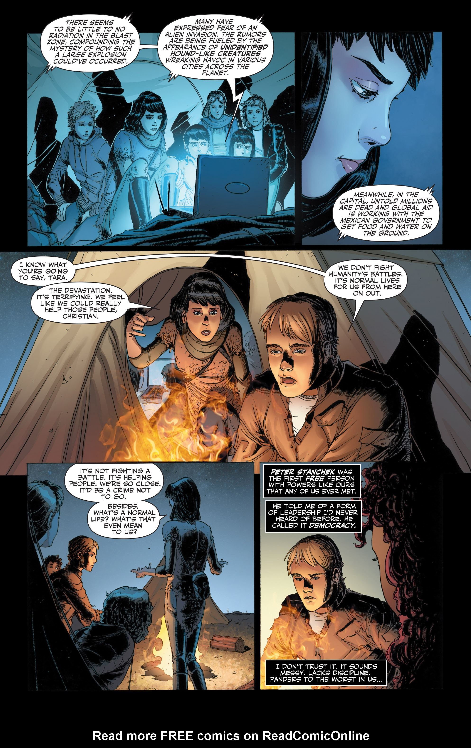 Read online Armor Hunters: Harbinger comic -  Issue # TPB - 14