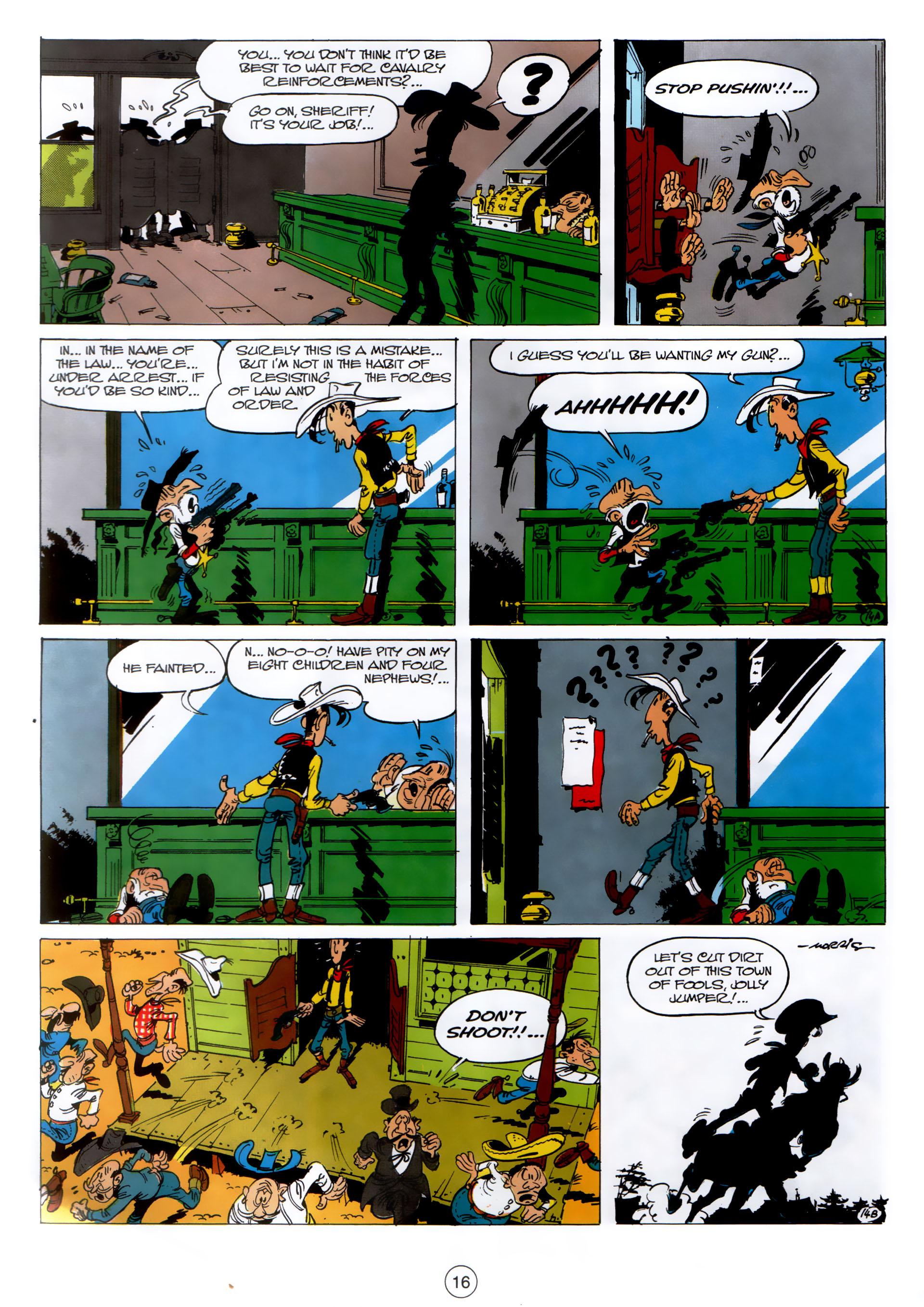 Read online A Lucky Luke Adventure comic -  Issue #30 - 15