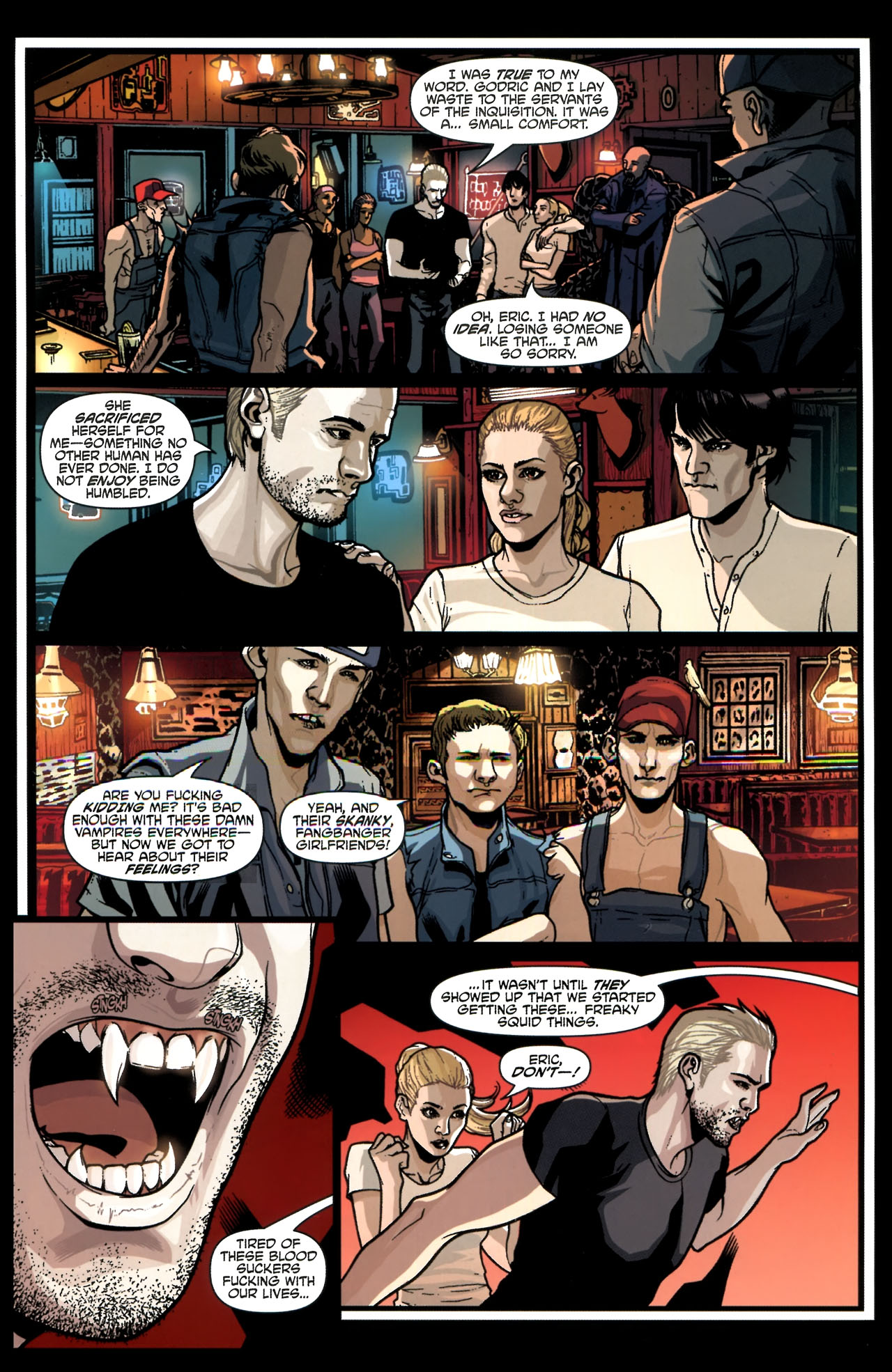Read online True Blood (2010) comic -  Issue #3 - 13