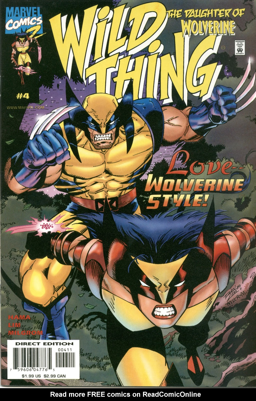 Wild Thing (1999) issue 4 - Page 1
