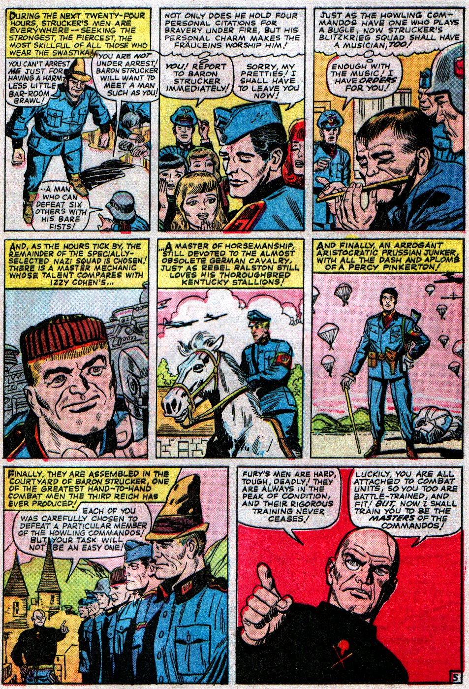Read online Sgt. Fury comic -  Issue #14 - 9