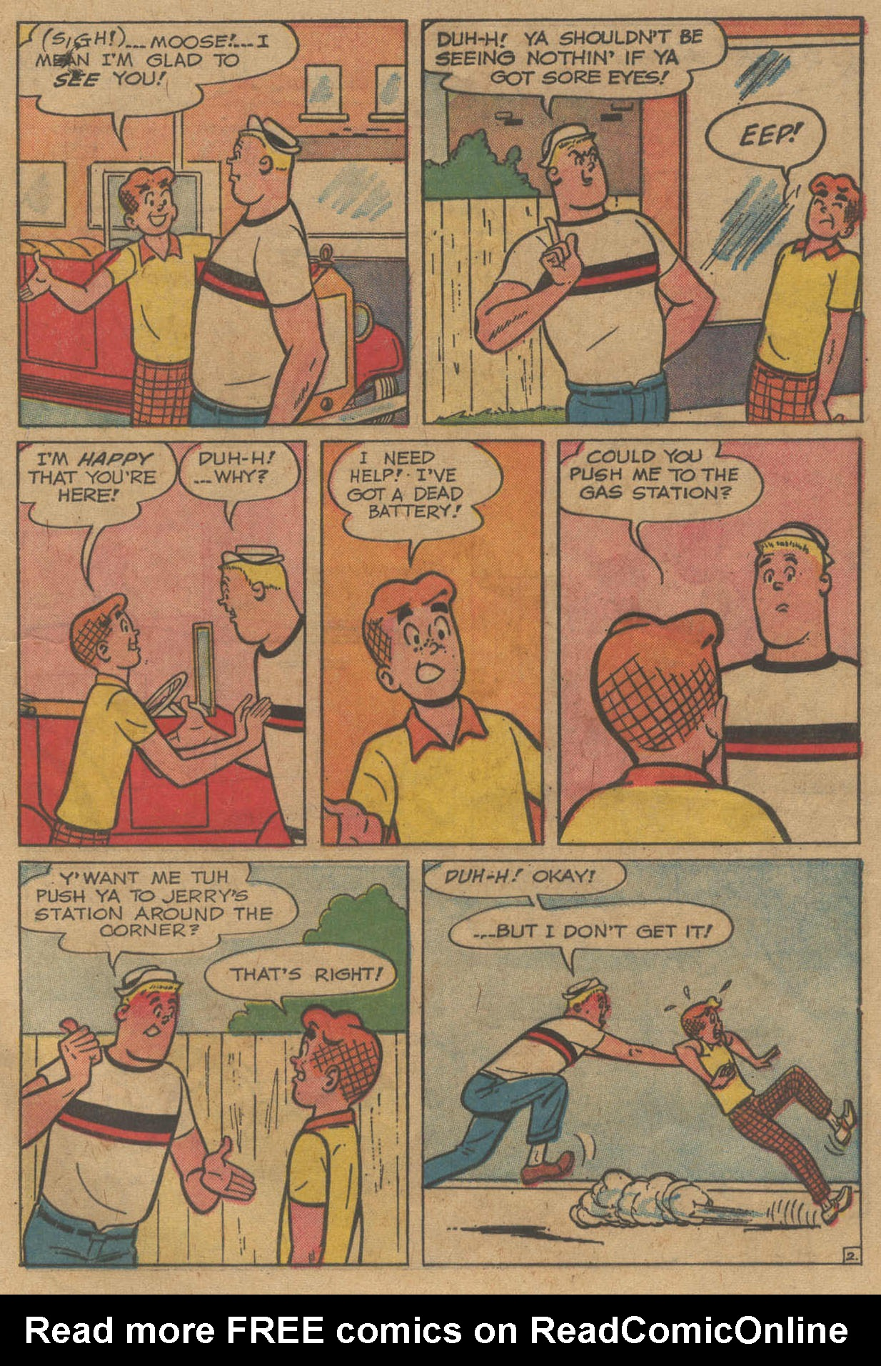 Read online Archie (1960) comic -  Issue #141 - 21