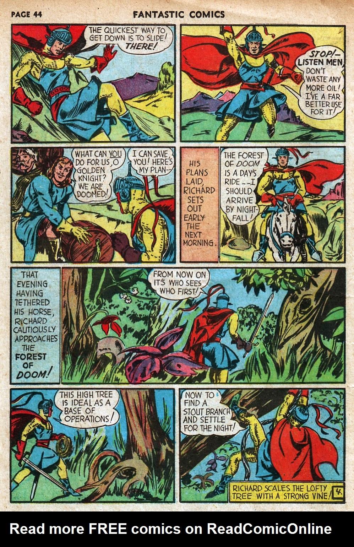 Read online Fantastic Comics comic -  Issue #18 - 46
