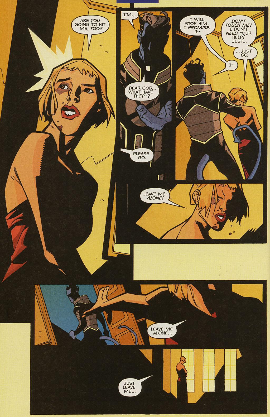 Read online Nightcrawler (2002) comic -  Issue #4 - 8