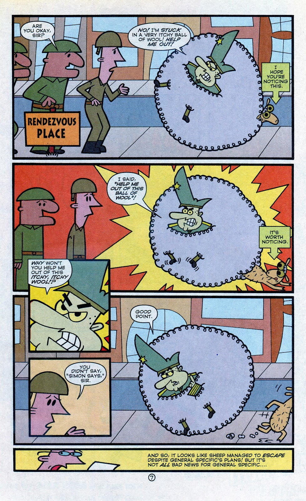 Read online Cartoon Cartoons comic -  Issue #4 - 32