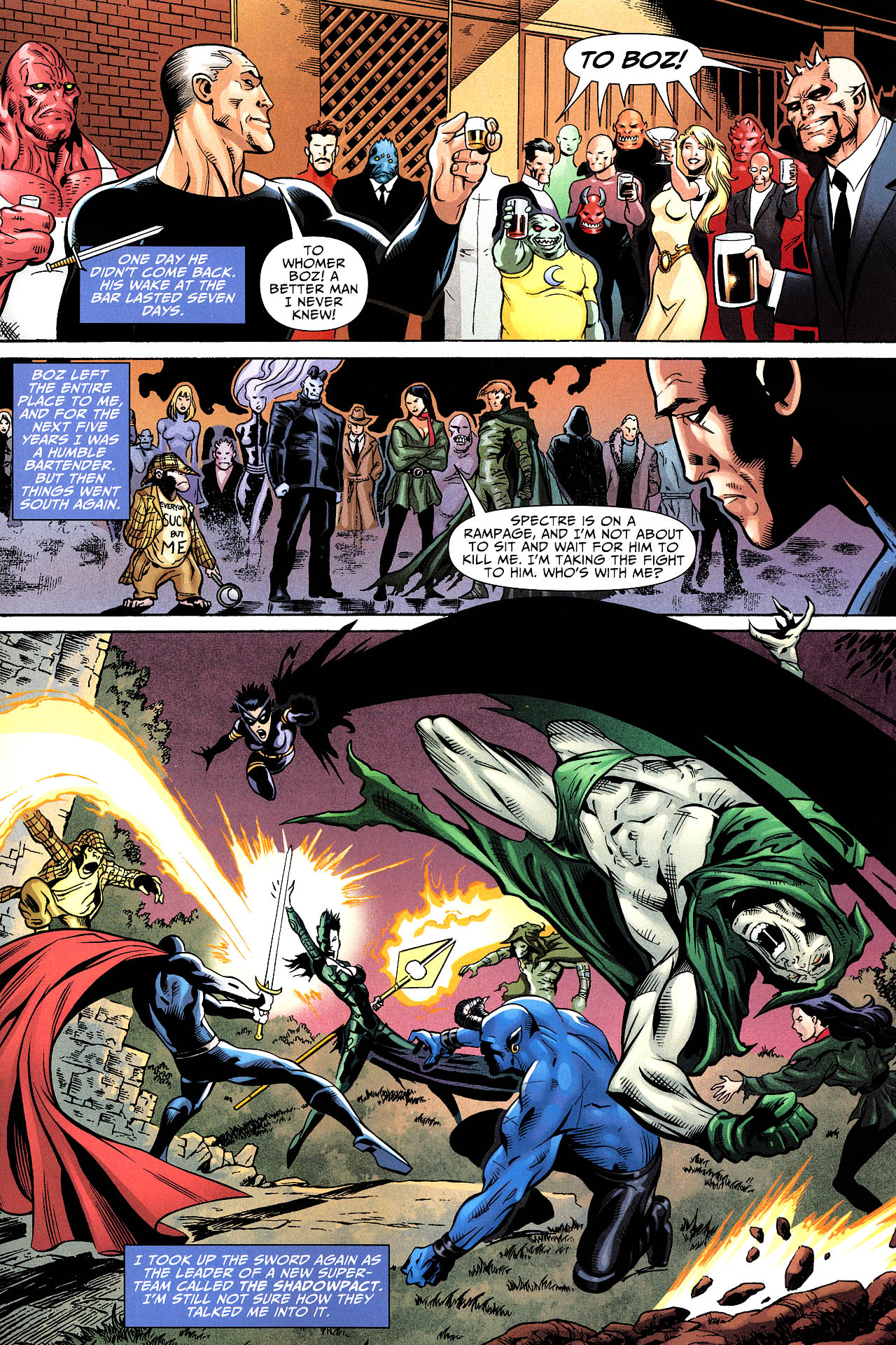 Read online Shadowpact comic -  Issue #12 - 13