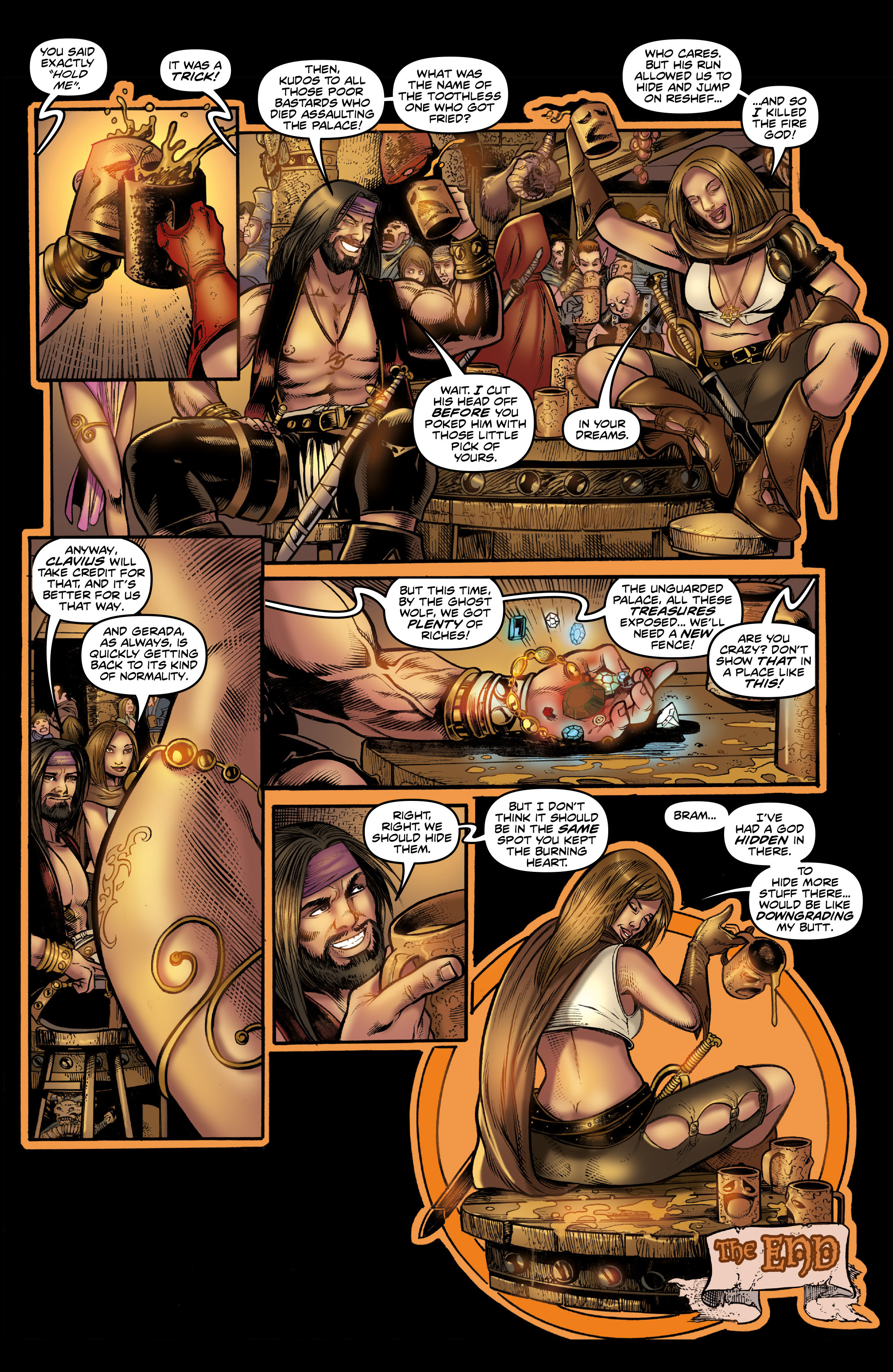 Read online Rogues!: The Burning Heart comic -  Issue #3 - 22