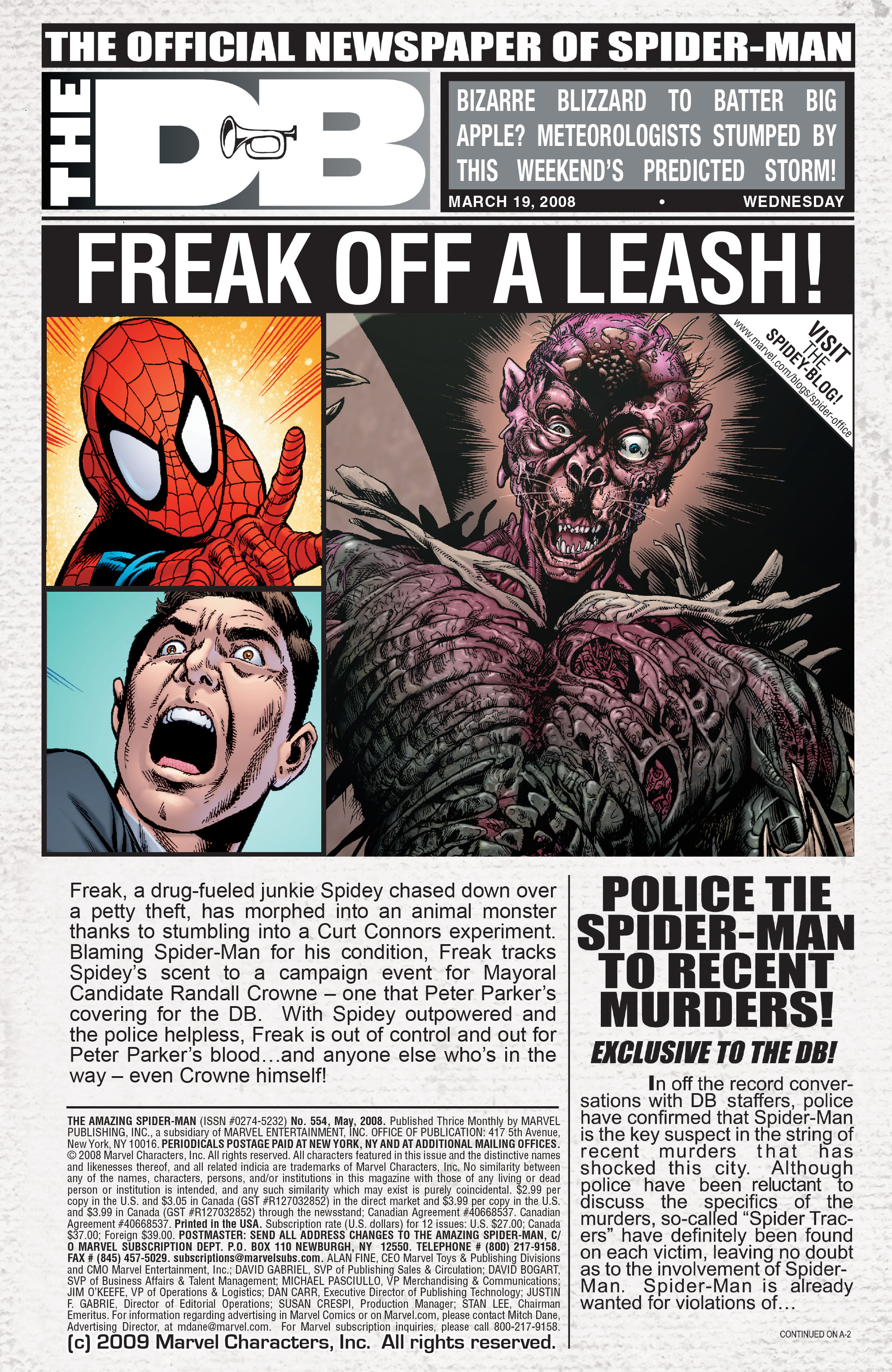 The Amazing Spider-Man (1963) 554 Page 1