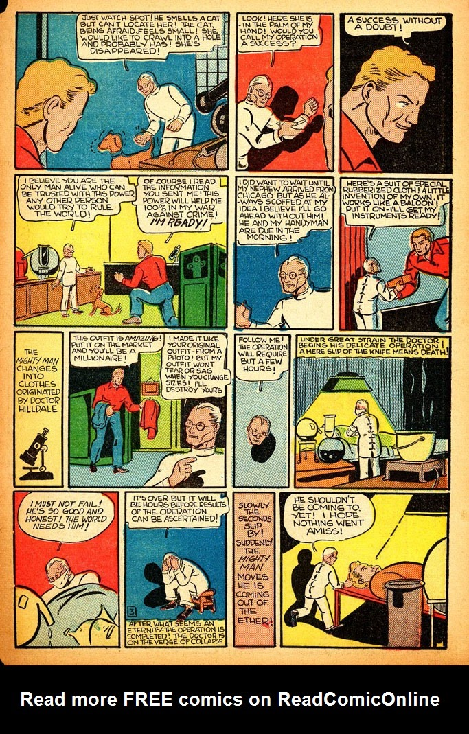 Read online Amazing Man Comics comic -  Issue #12 - 61