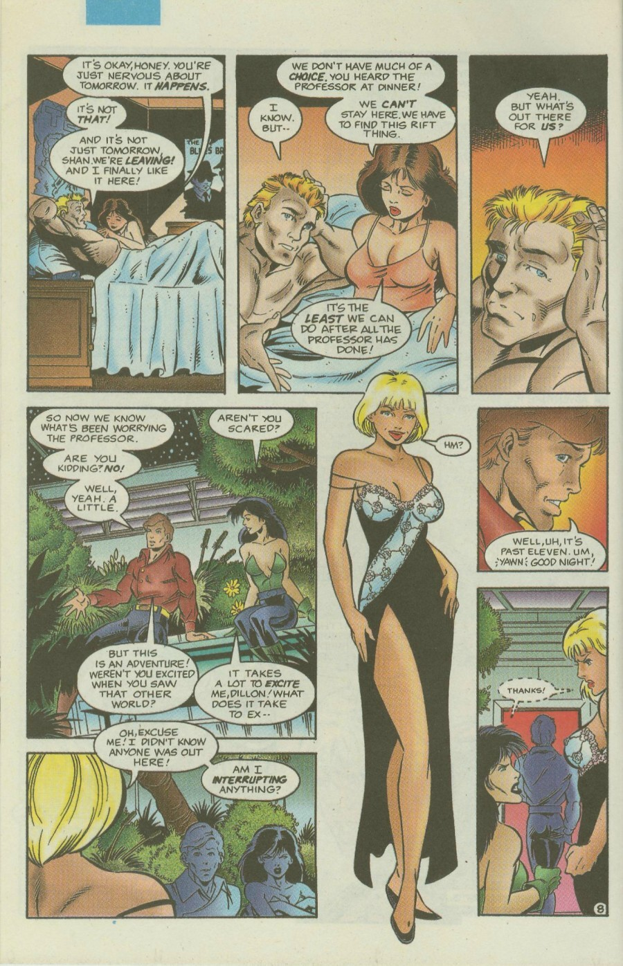 Read online Ex-Mutants comic -  Issue #4 - 9