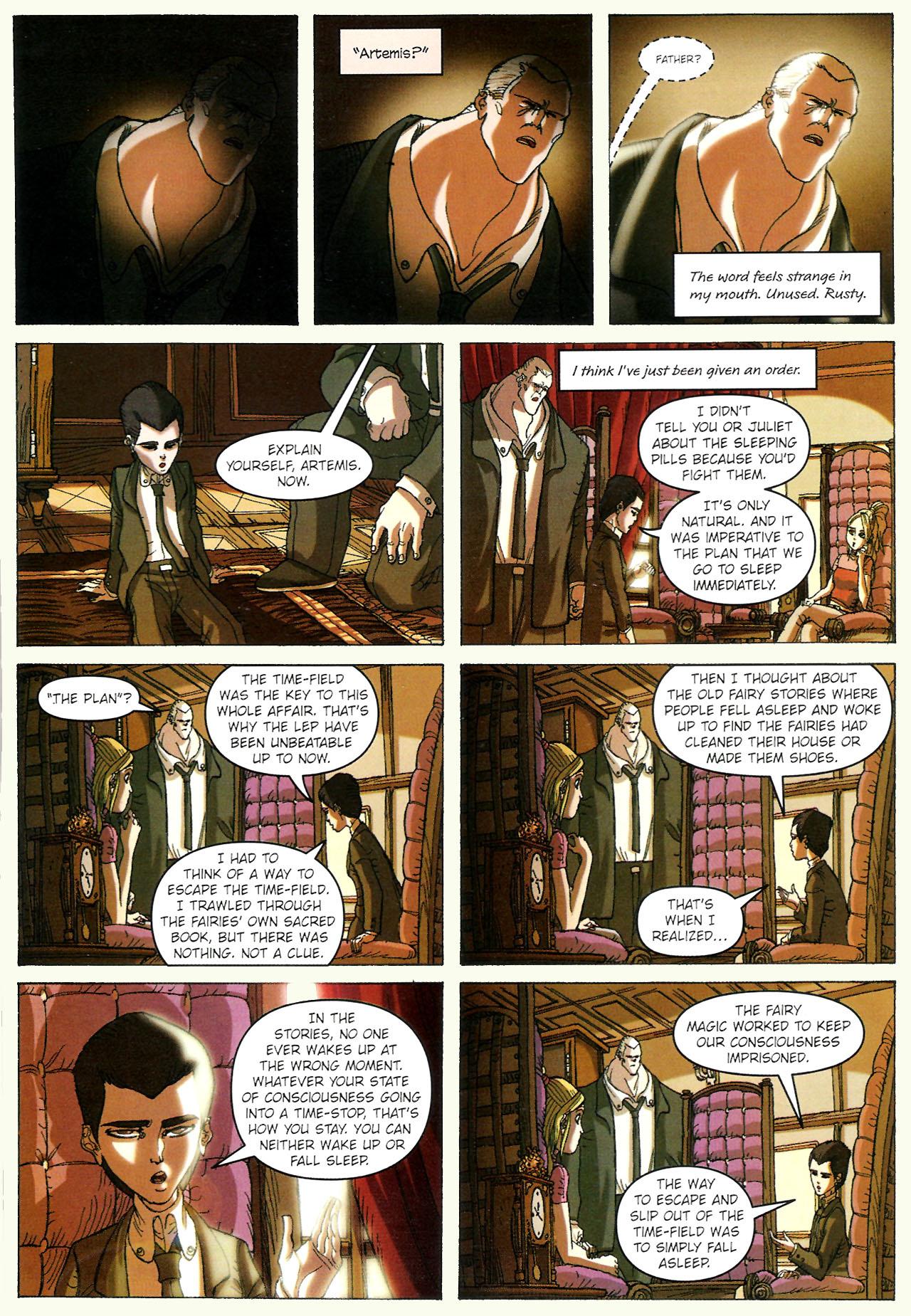 Read online Artemis Fowl: The Graphic Novel comic -  Issue #Artemis Fowl: The Graphic Novel Full - 110