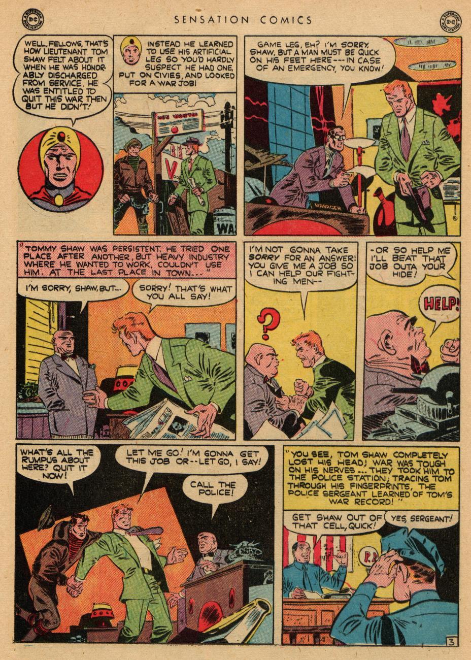 Read online Sensation (Mystery) Comics comic -  Issue #36 - 19