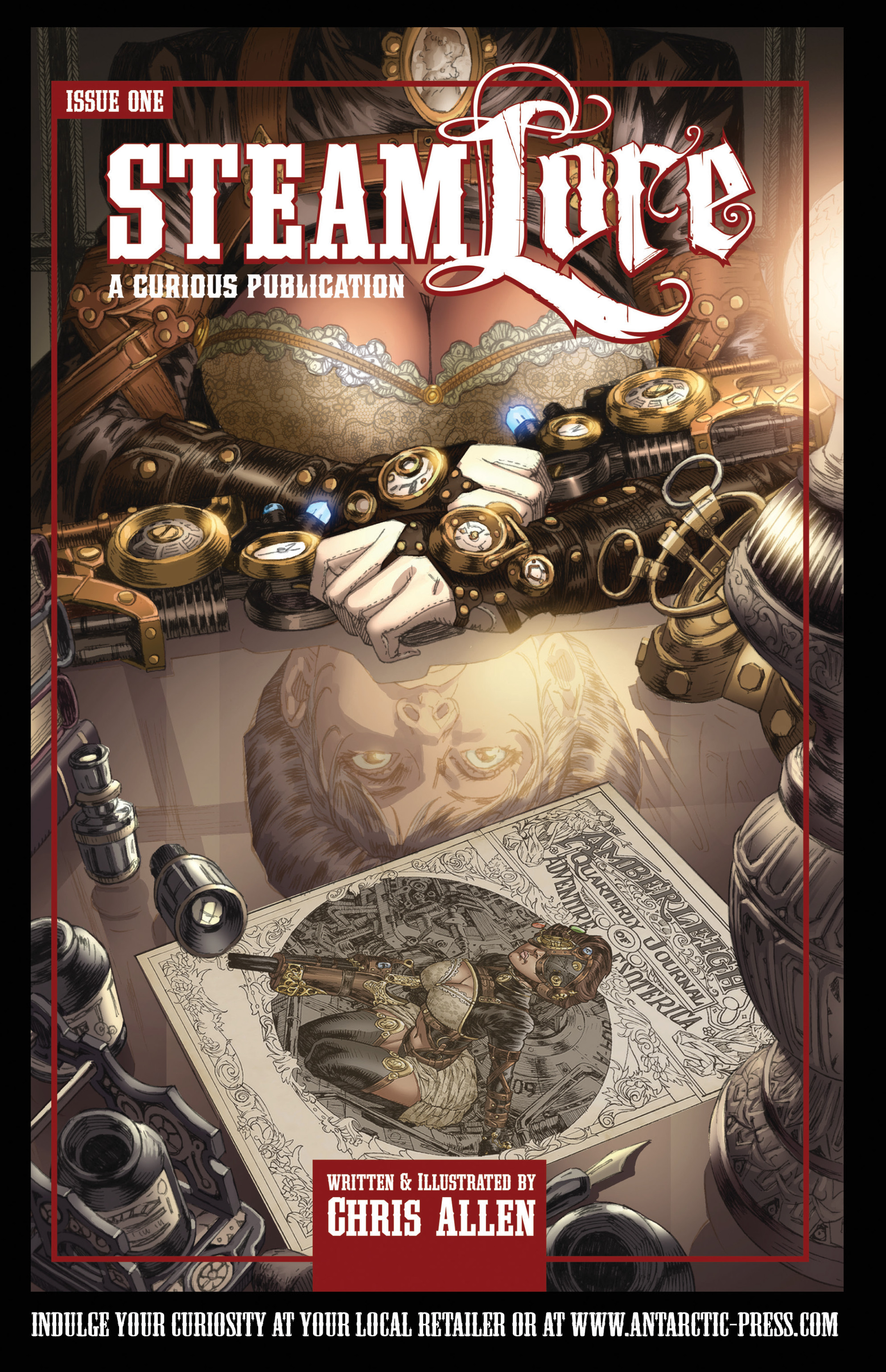 Read online Airship Enterprise: The Infernal Machine comic -  Issue #3 - 25
