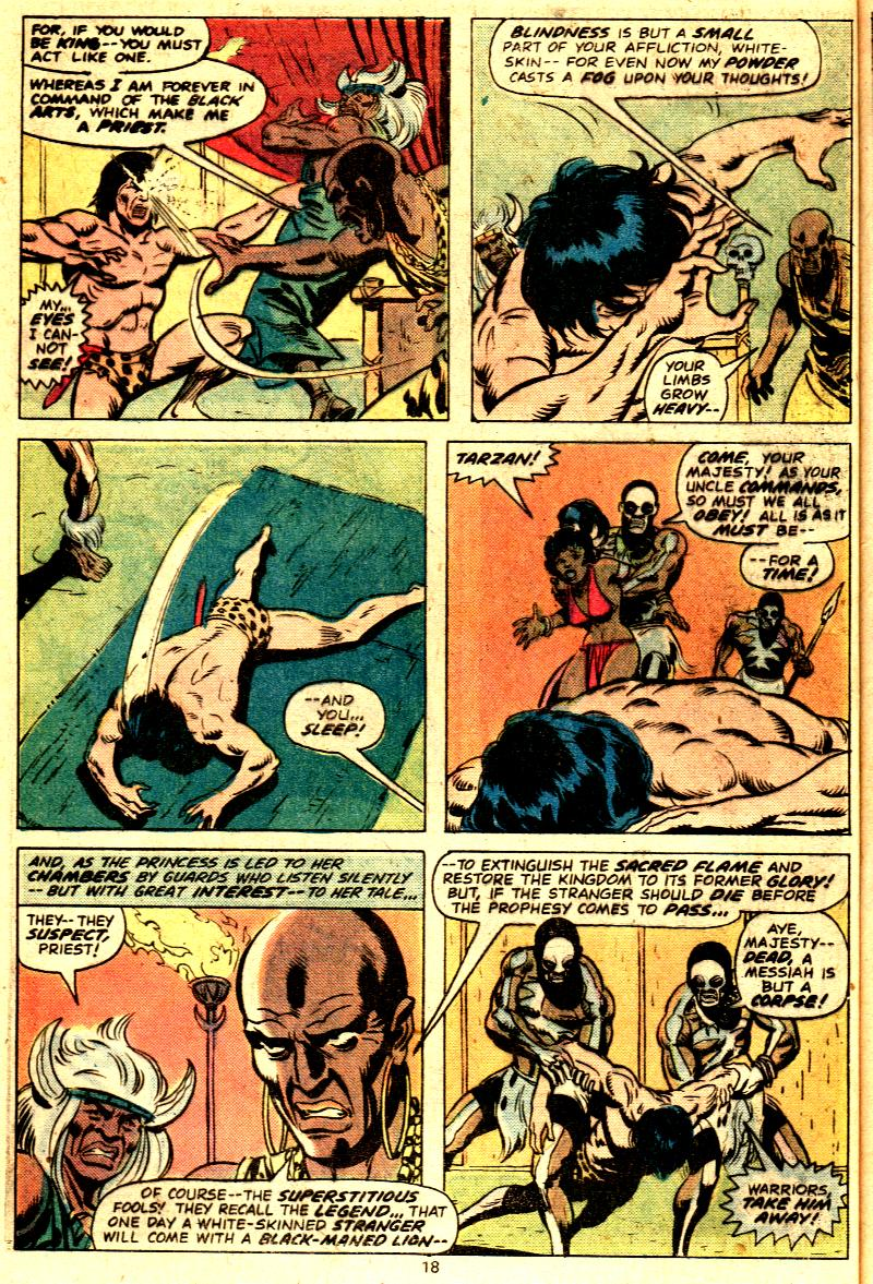 Read online Tarzan (1977) comic -  Issue # _Annual 2 - 16