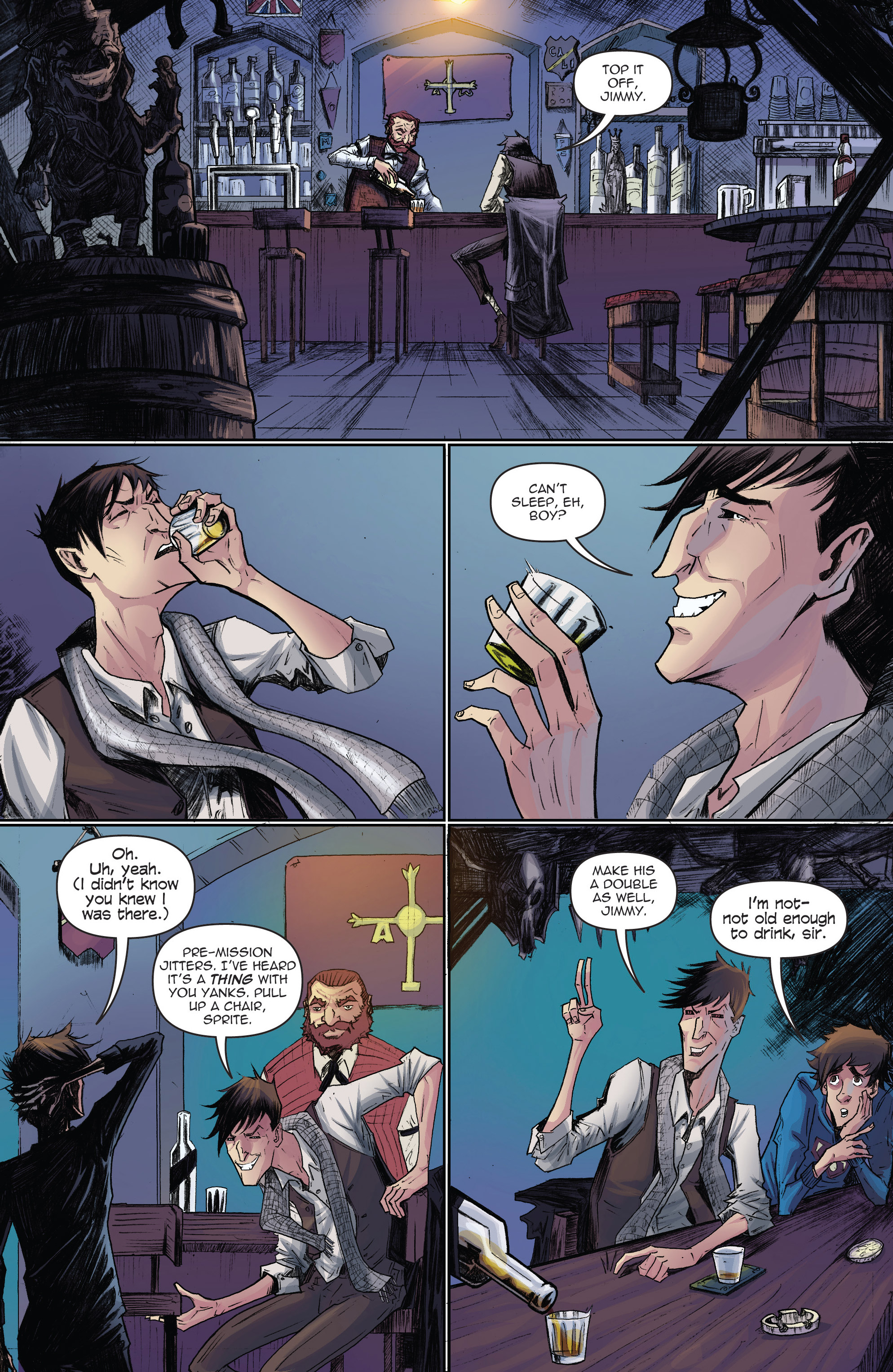 Read online Infinite Seven comic -  Issue #3 - 3