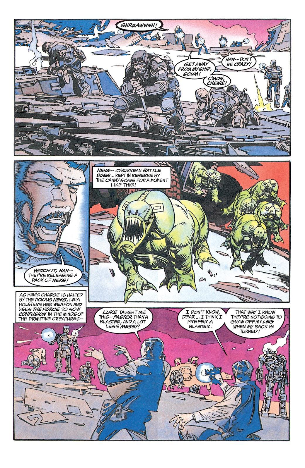 Read online Star Wars: Dark Empire Trilogy comic -  Issue # TPB (Part 1) - 19