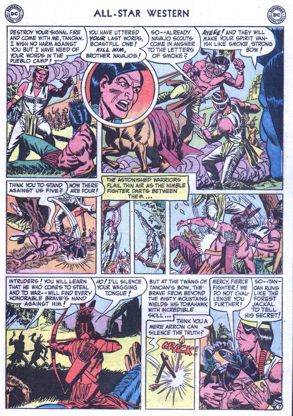 Read online All-Star Western (1951) comic -  Issue #59 - 45