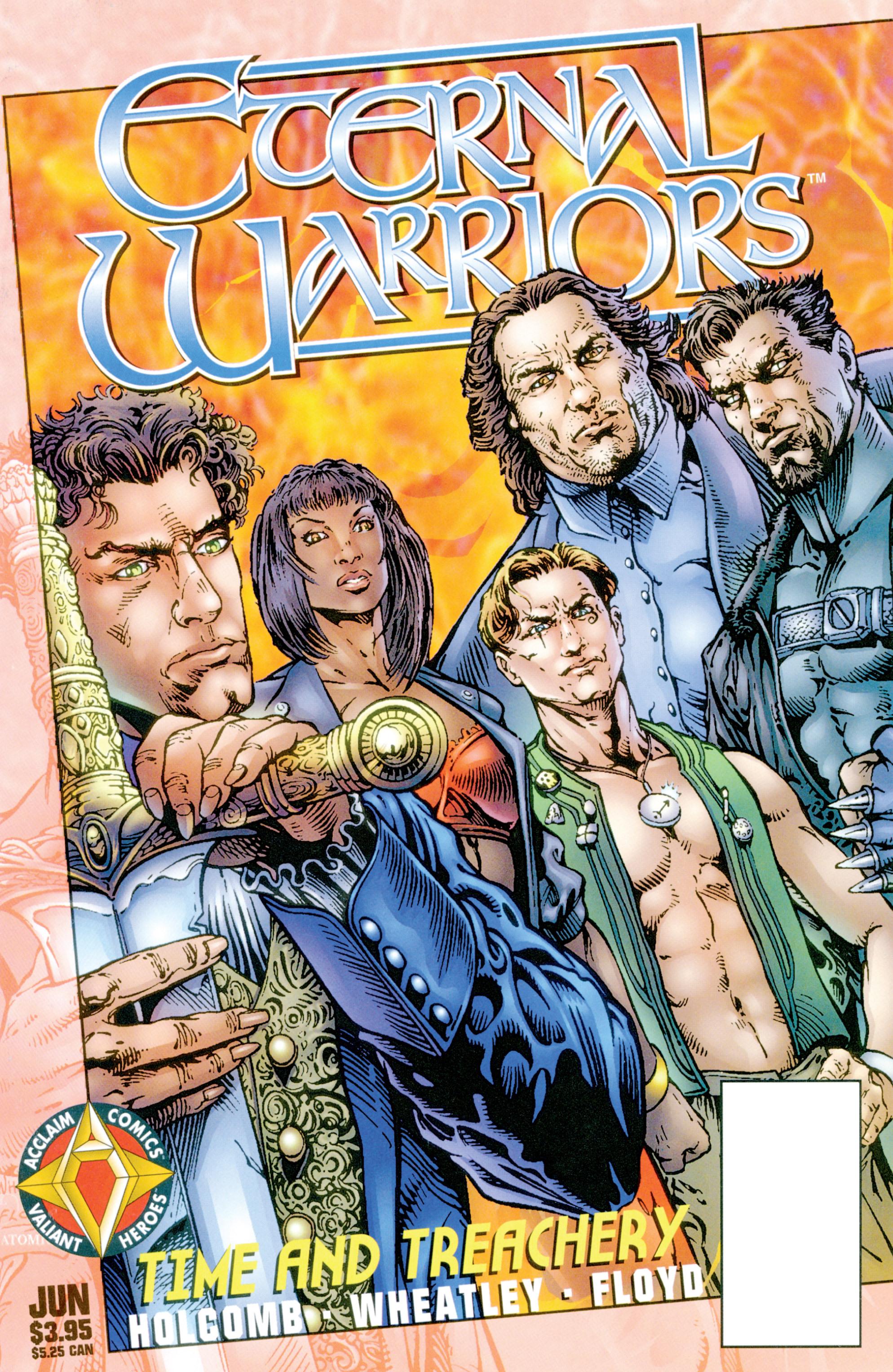 Read online Eternal Warriors comic -  Issue # Issue Time & Treachery - 1