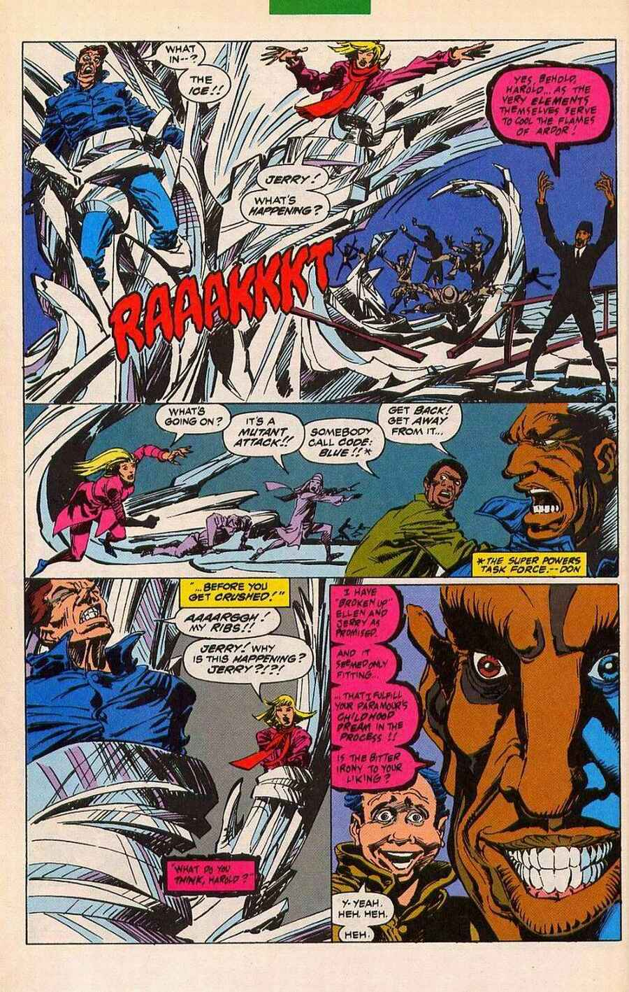 Read online Sleepwalker Holiday Special comic -  Issue # Full - 19