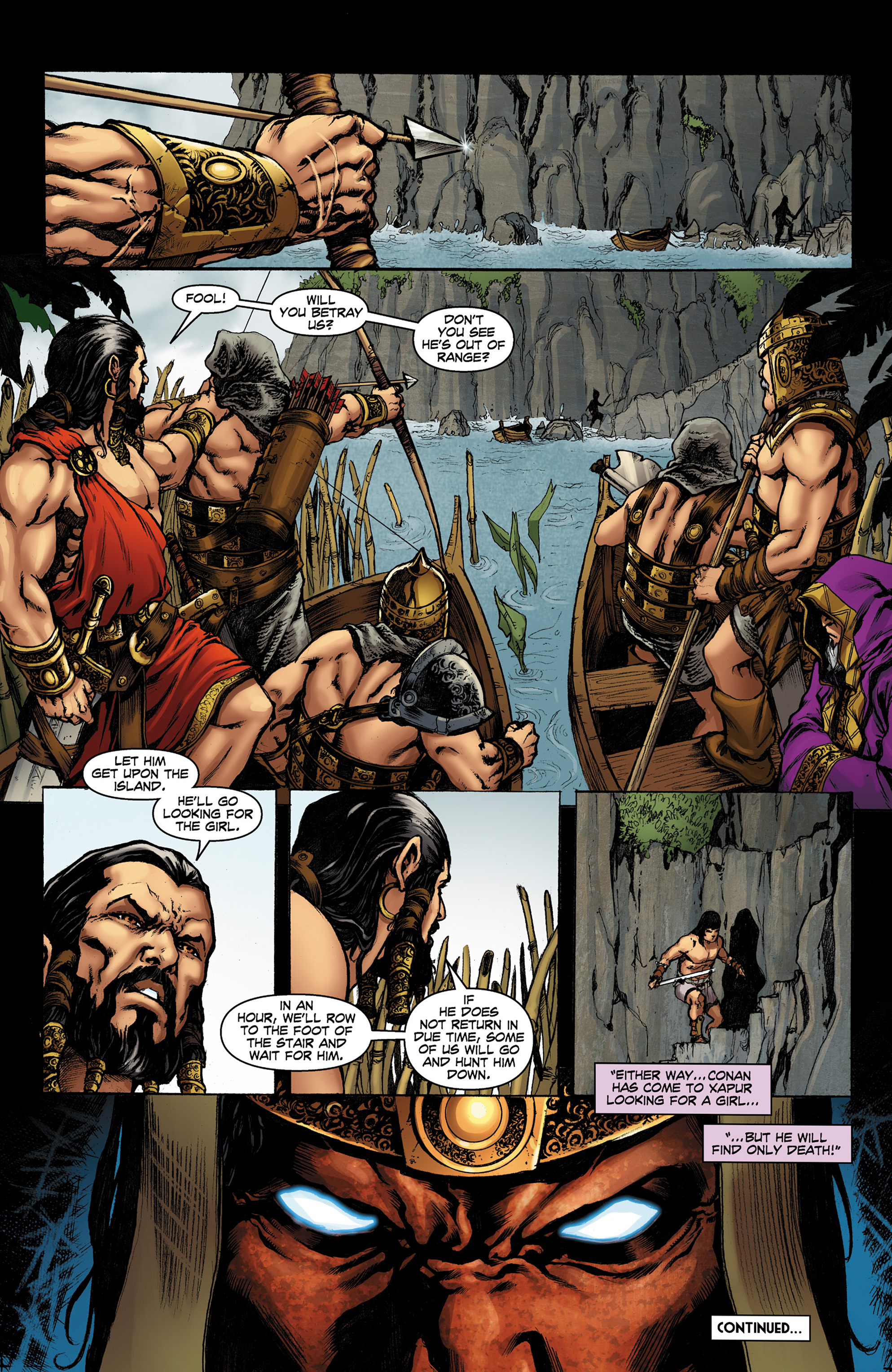 Read online Conan The Slayer comic -  Issue #8 - 23