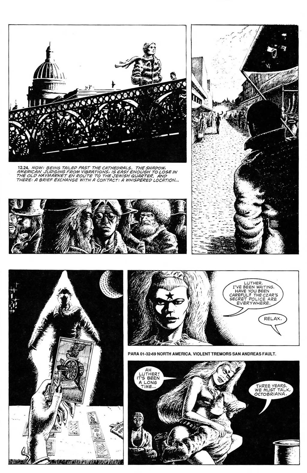 Read online The Adventures of Luther Arkwright comic -  Issue #2 - 10